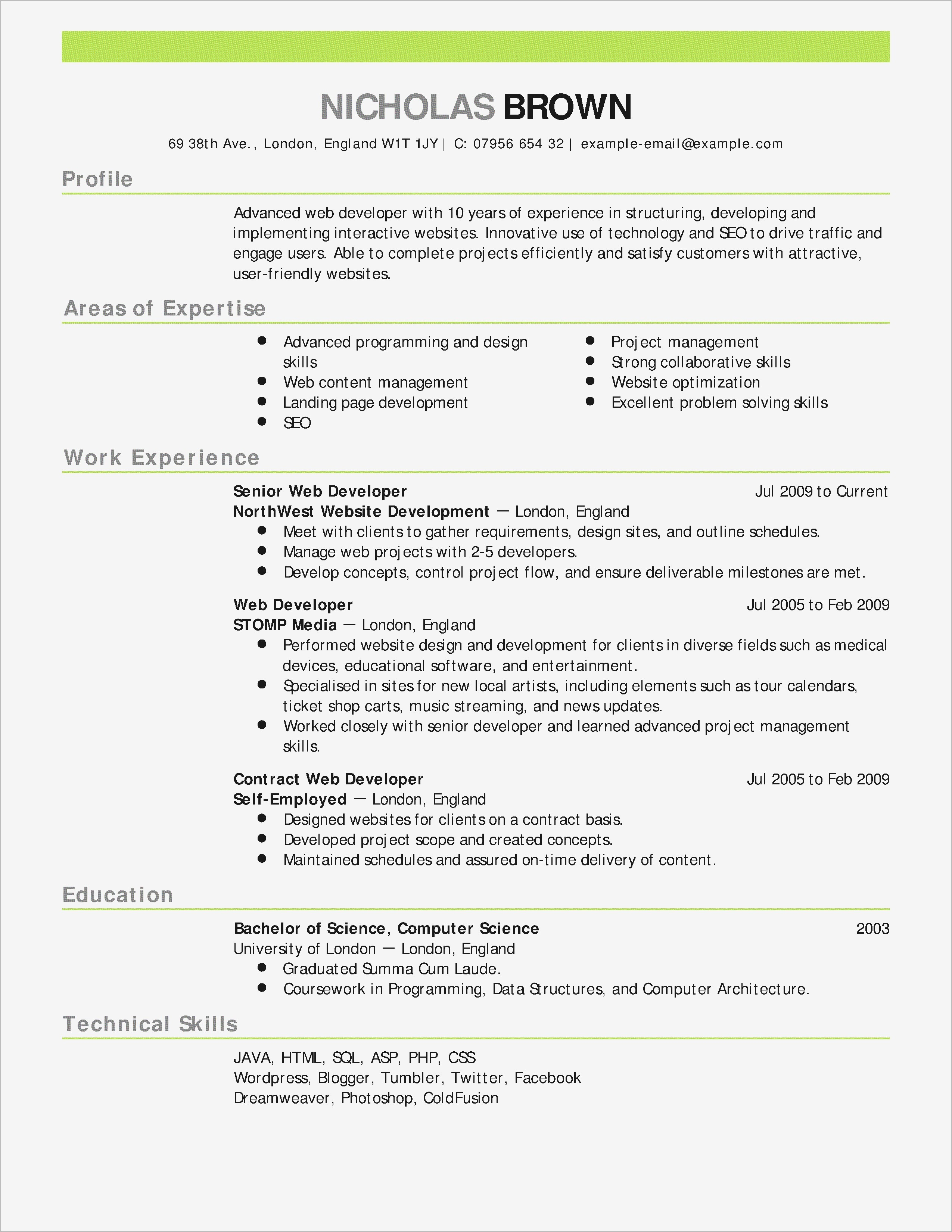 Wholesale Letter Template - Fox School Business Resume Template