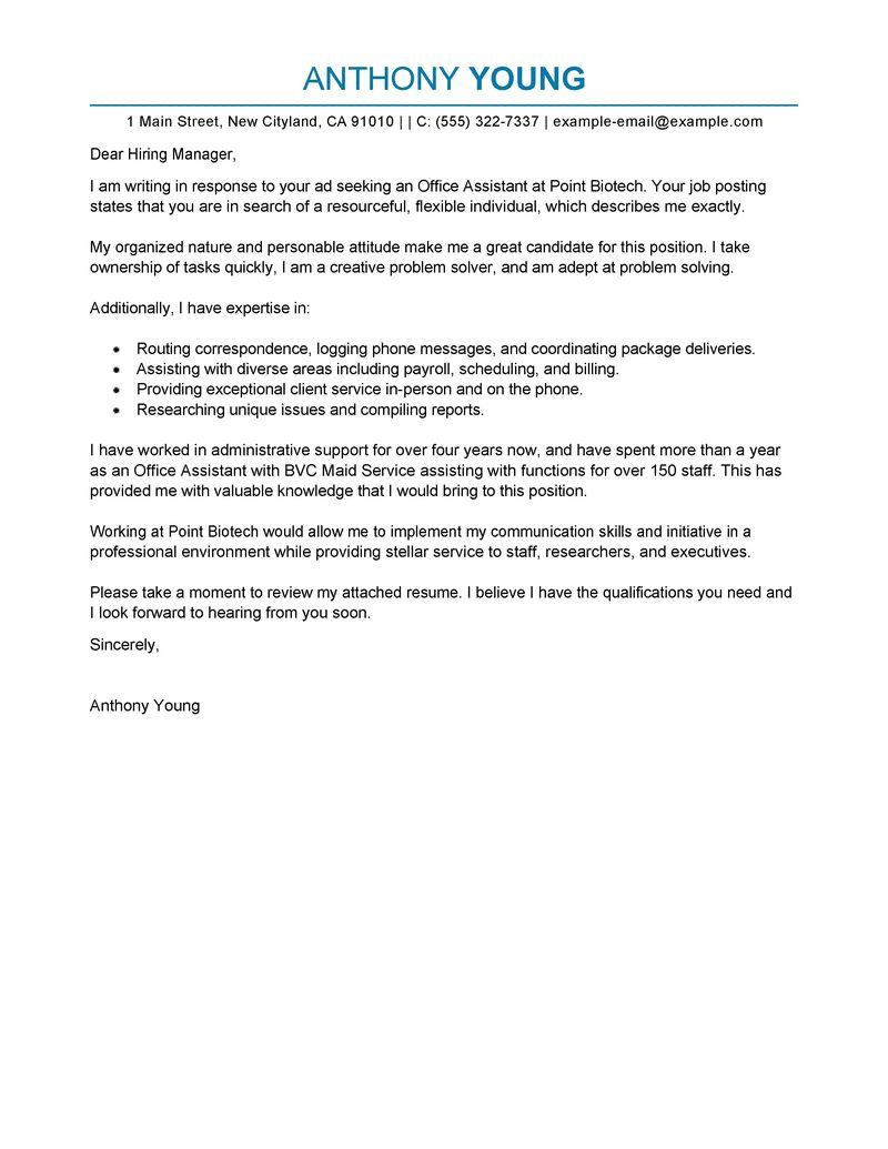 Esa Travel Letter Template - Free Cover Letter Examples for Resume Cover Letter for Resume