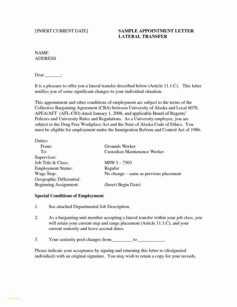 Employment Cover Letter Template - Free Cover Letter for Job Application and Cover Letter Template Word