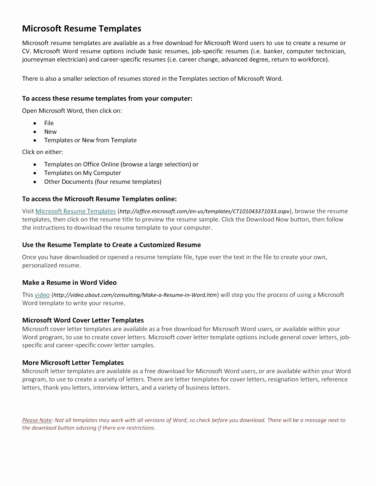 Free Online Cover Letter Template - Free Cover Letter Templates for Resumes Fresh Resume Template