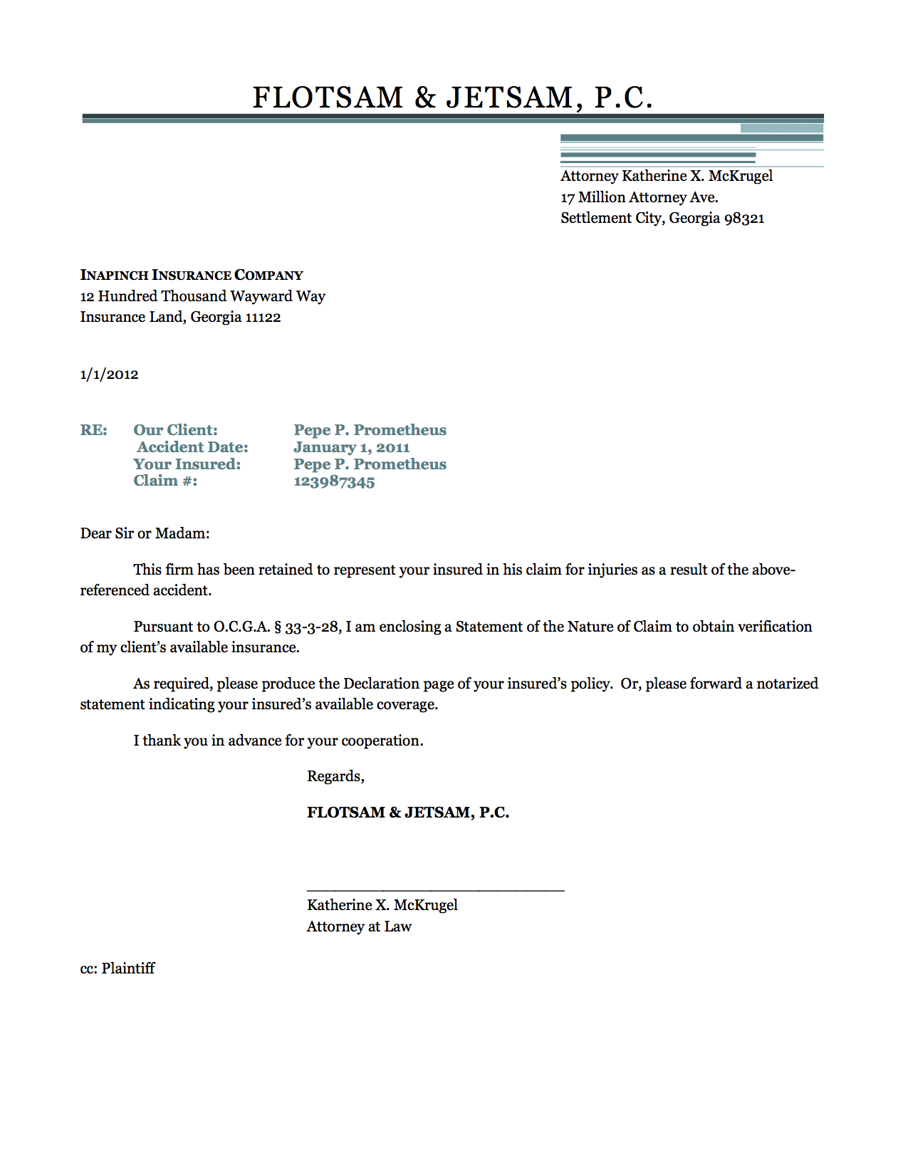 Lien Demand Letter Template - Free Cover Letter Templates Writing A Demand Letter