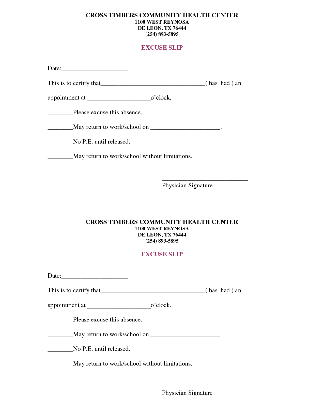 doctor diagnosis letter template collection
