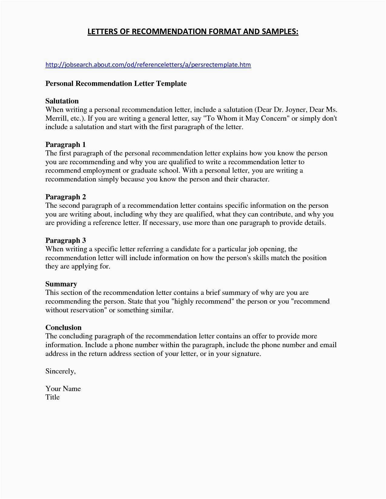 Statement Of Service Letter Template - Free Pampl Statement Template or Statement Intent Sample