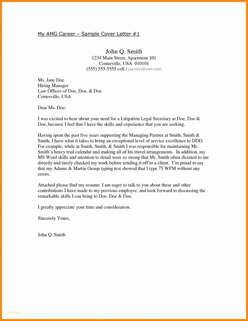 Sales Cover Letter Template Free - Free Resume Cover Letter Template Inspirational Free Resume Cover