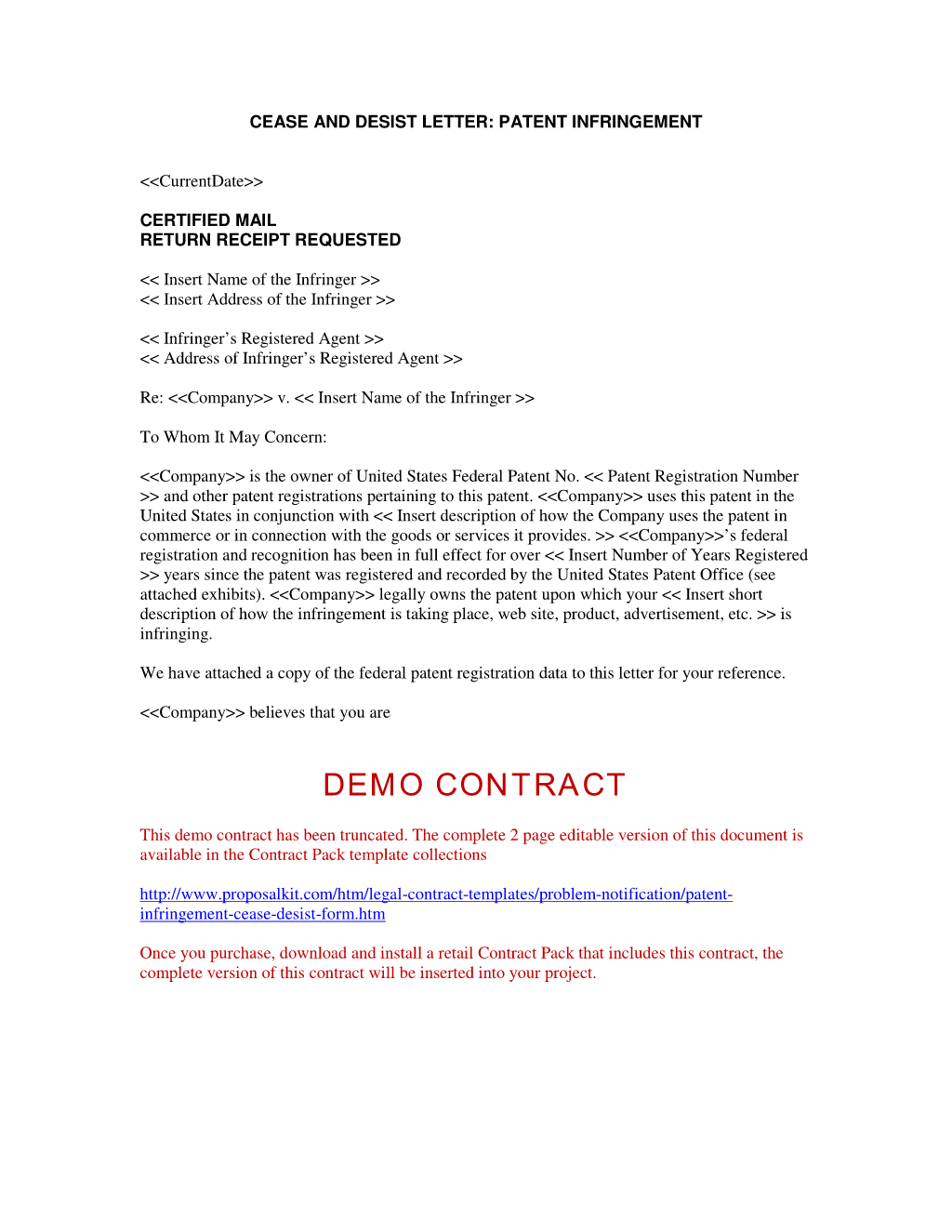 Cease and Desist Letter Template - Fresh Cease and Desist Template Your Template Collection