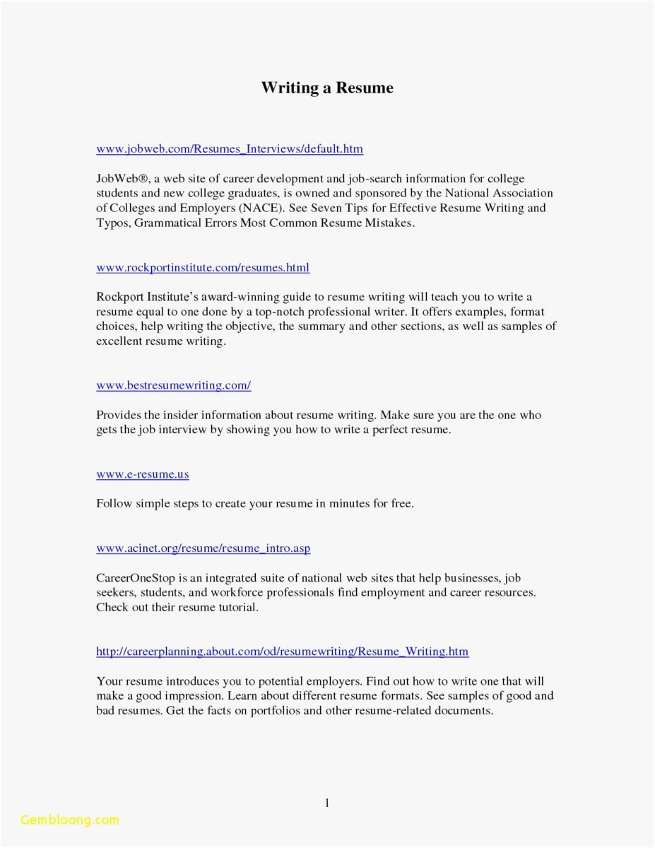 Generic Resume Cover Letter Template - Generic Resume Template Inspirational New Example Cover Letter for