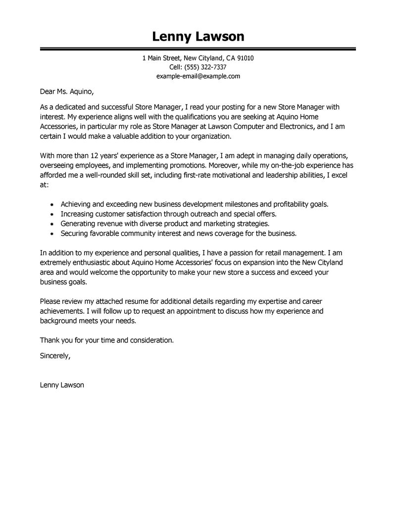 Warehouse Manager Cover Letter Template - Hewlett Packard Hpq Resumes Stock Buyback