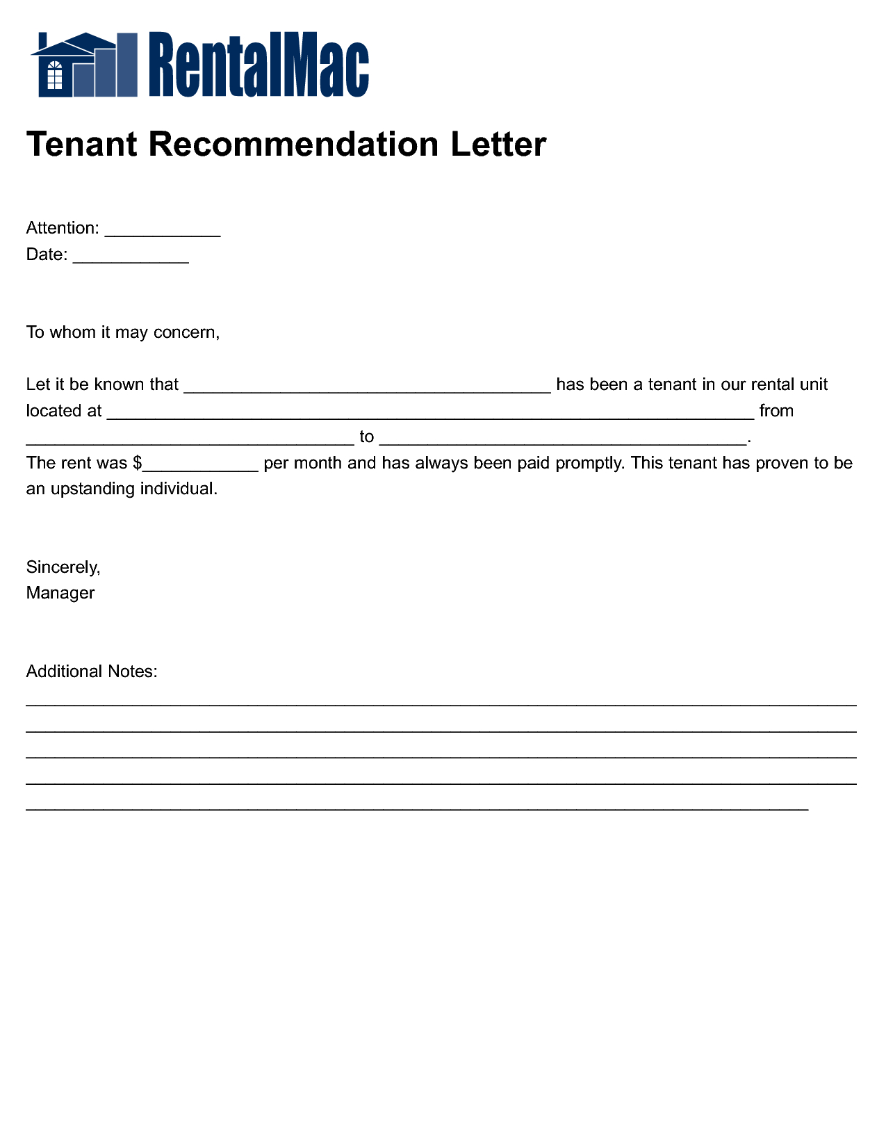 rental reference letter template housing reference letter letter format formal sample
