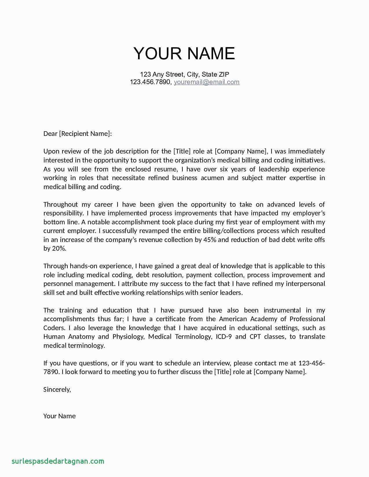 Creating A Cover Letter Template - How to Make Resume for Job Beautiful Fresh Job Fer Letter Template