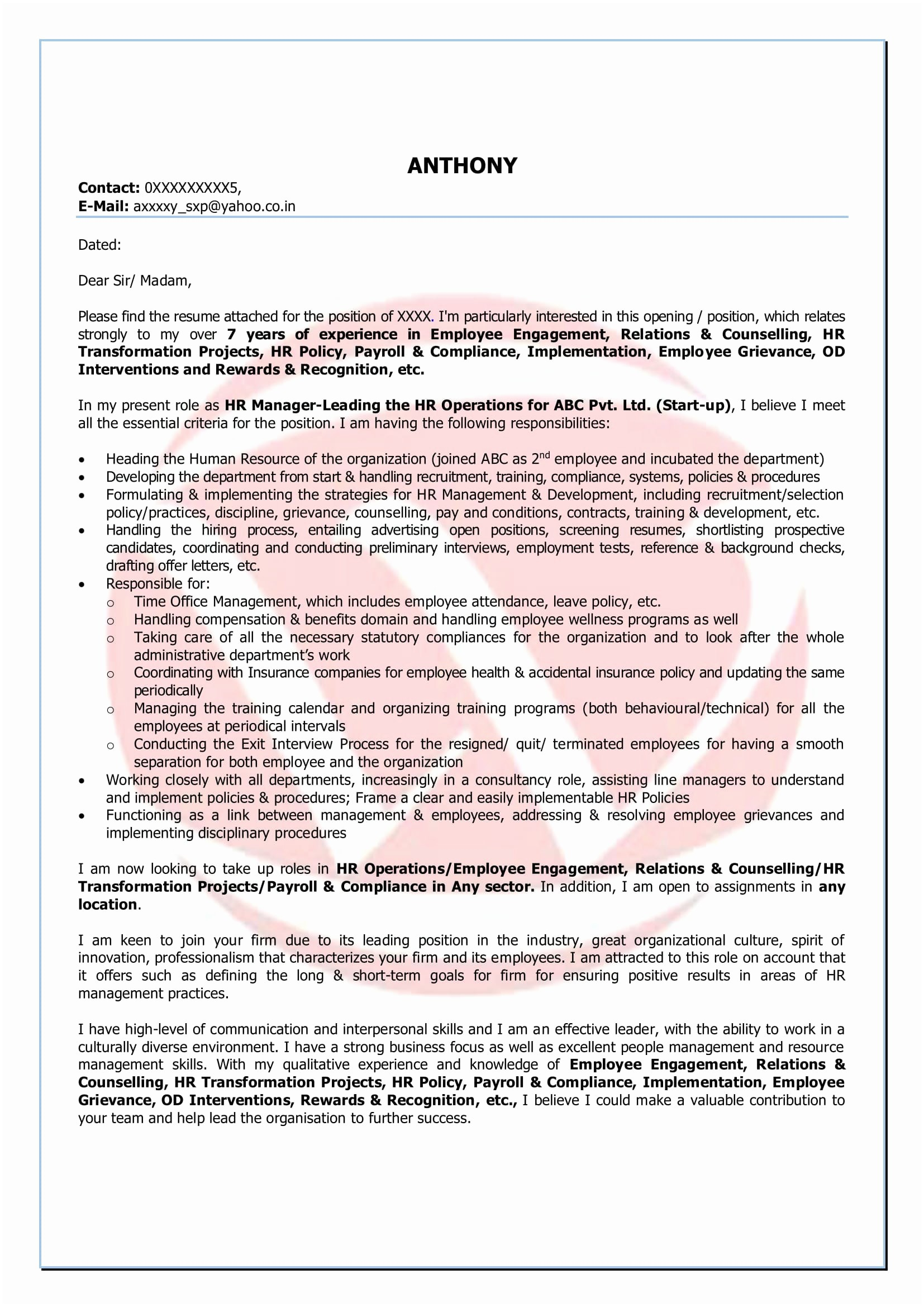 Certified Mail Letter Template - How to Write A Certified Letter Writing A Cover Letter Examples Pdf