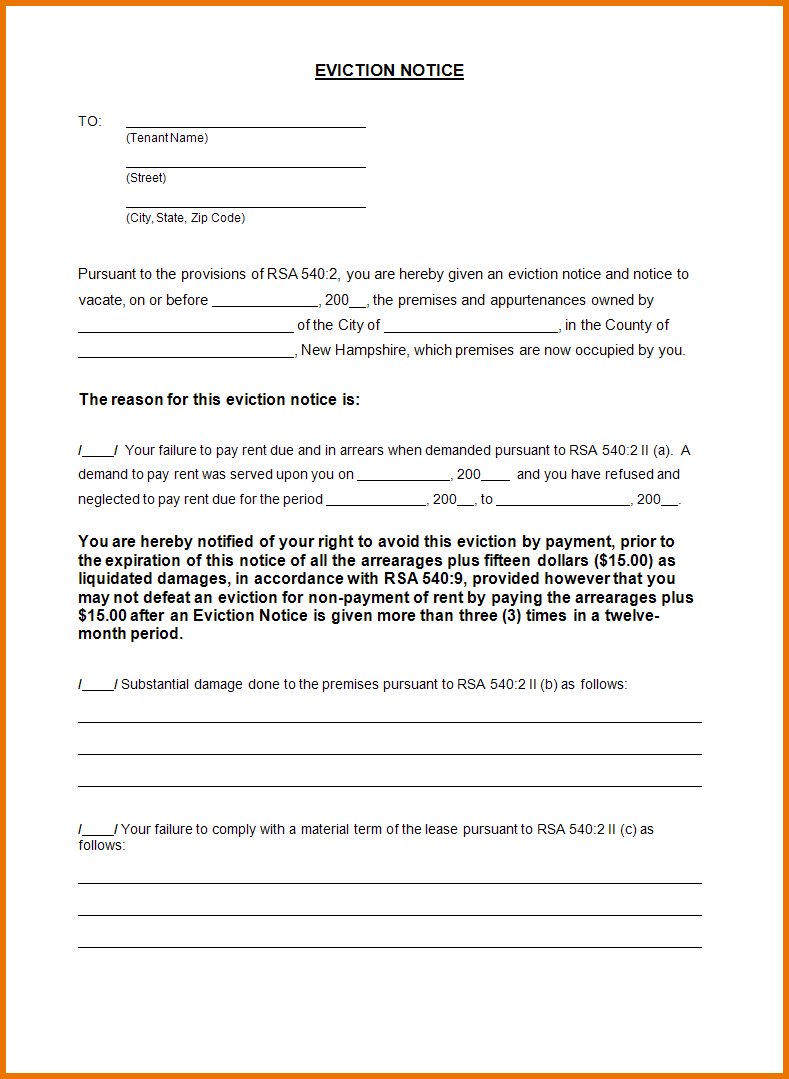 Eviction Letter Template Word - How to Write A Eviction Letter to A Family Member Letter