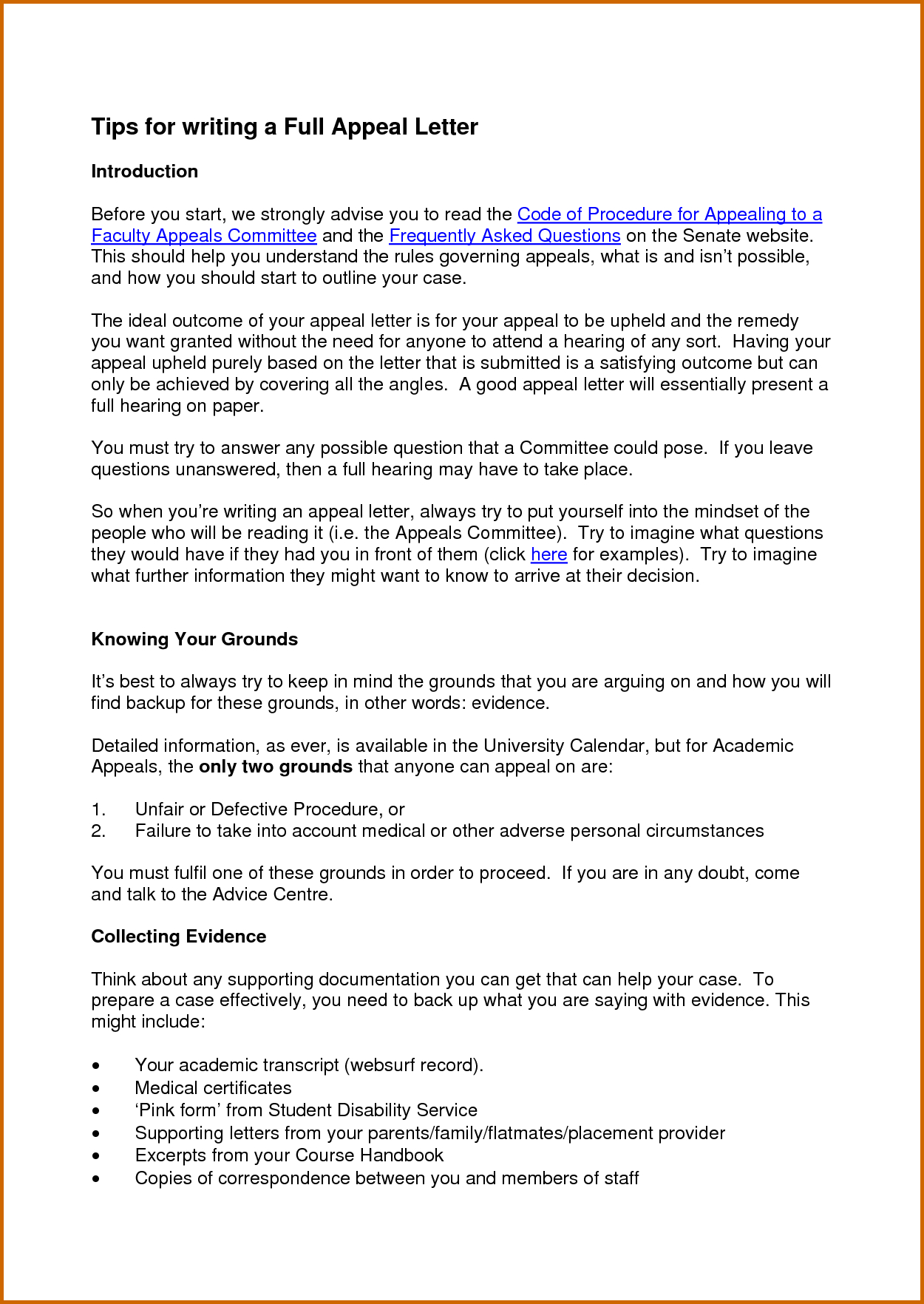 10 day appeal letter template collection letter cover templates 10 day appeal letter template how to write a good appeal letter for secondary school spiritdancerdesigns Gallery