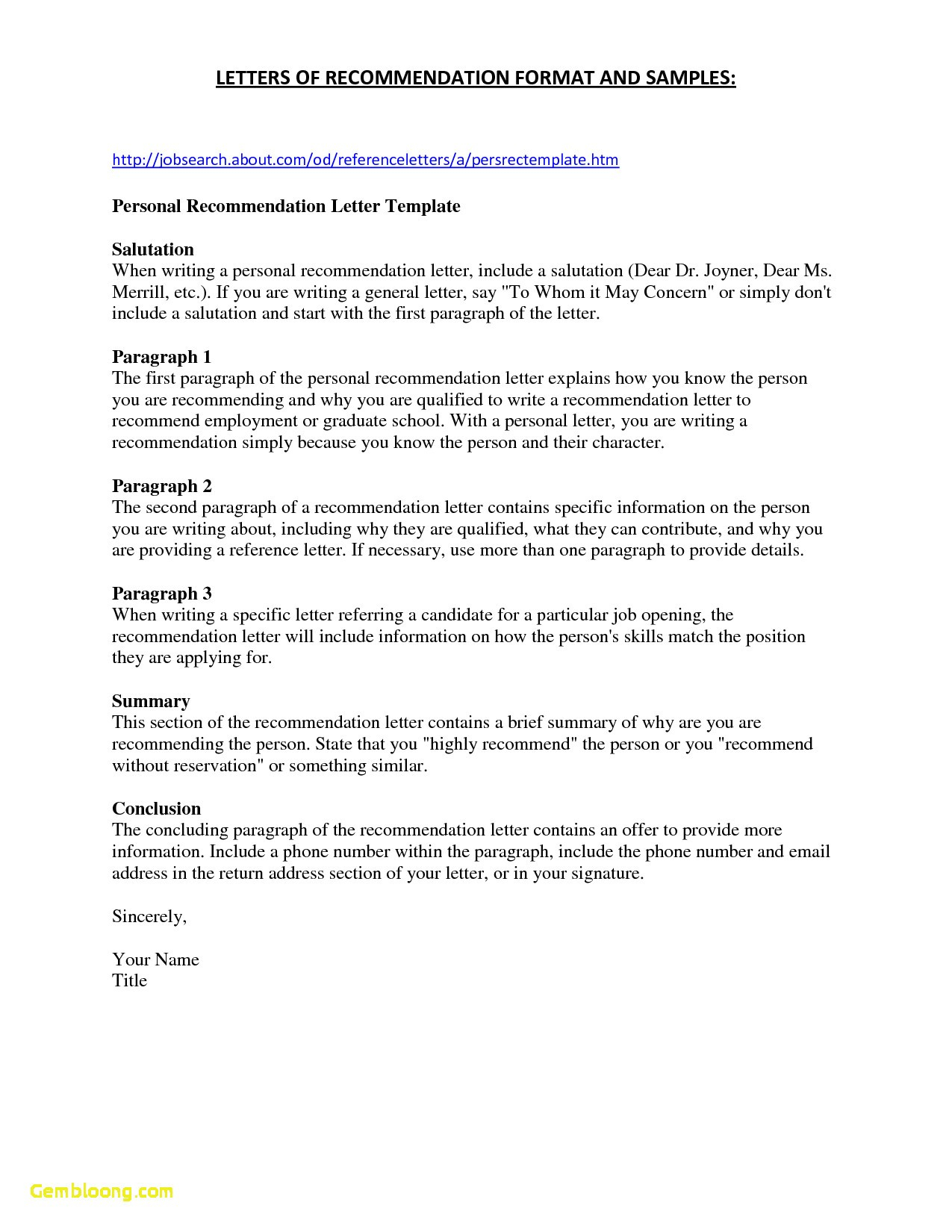 free recommendation letter template for employment example-How to Write A Good Re mendation Letter for A Job Fresh Hybrid Resume Template Free Download 20-i