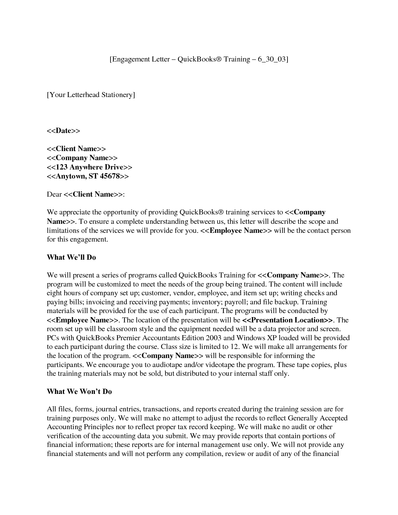 Tax Engagement Letter Template - How to Write A Letter Engagement Gallery Letter format formal