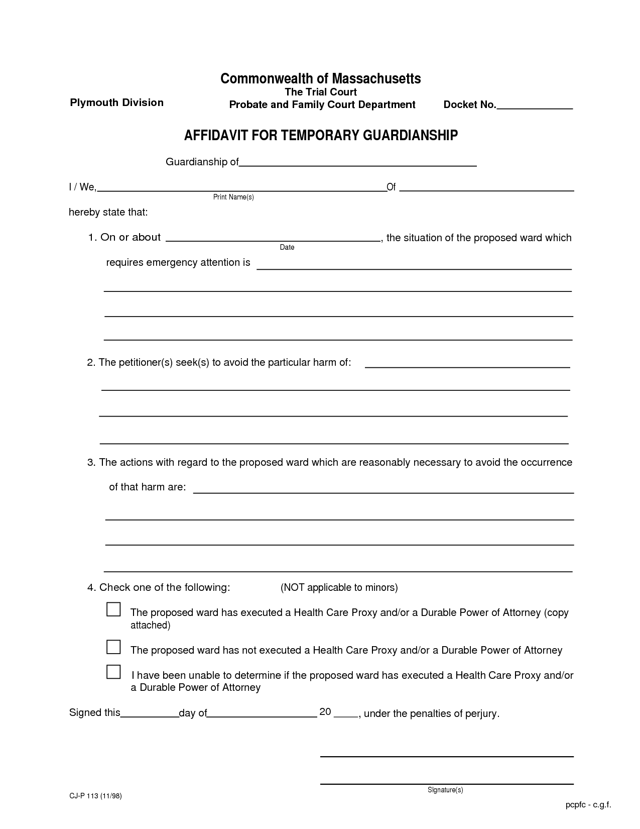 Temporary Guardianship Letter Template - How to Write A Letter for Guardianship Letter format formal