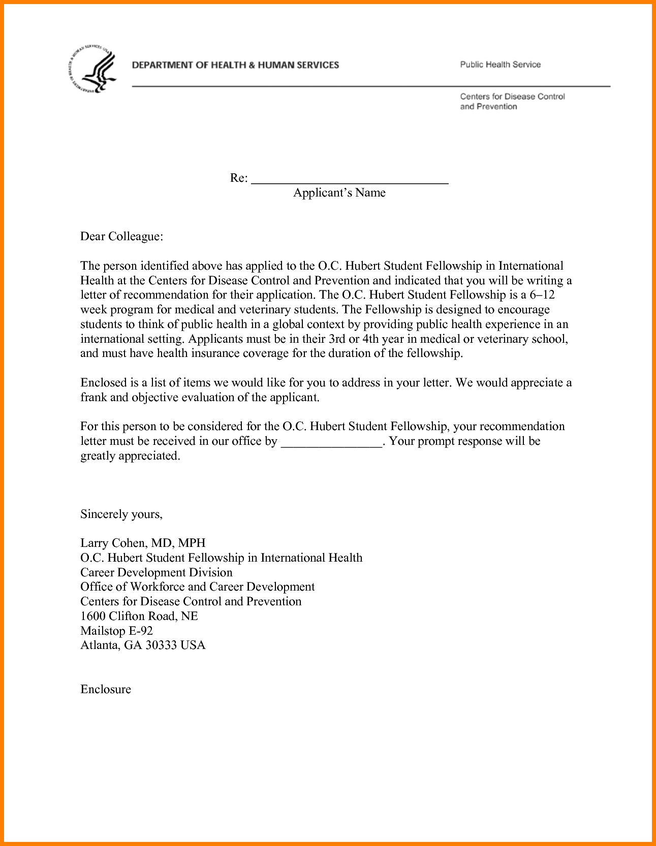 Template for letter of recommendation for medical school examples template for letter of recommendation for medical school how to write a letter re mendation expocarfo Image collections