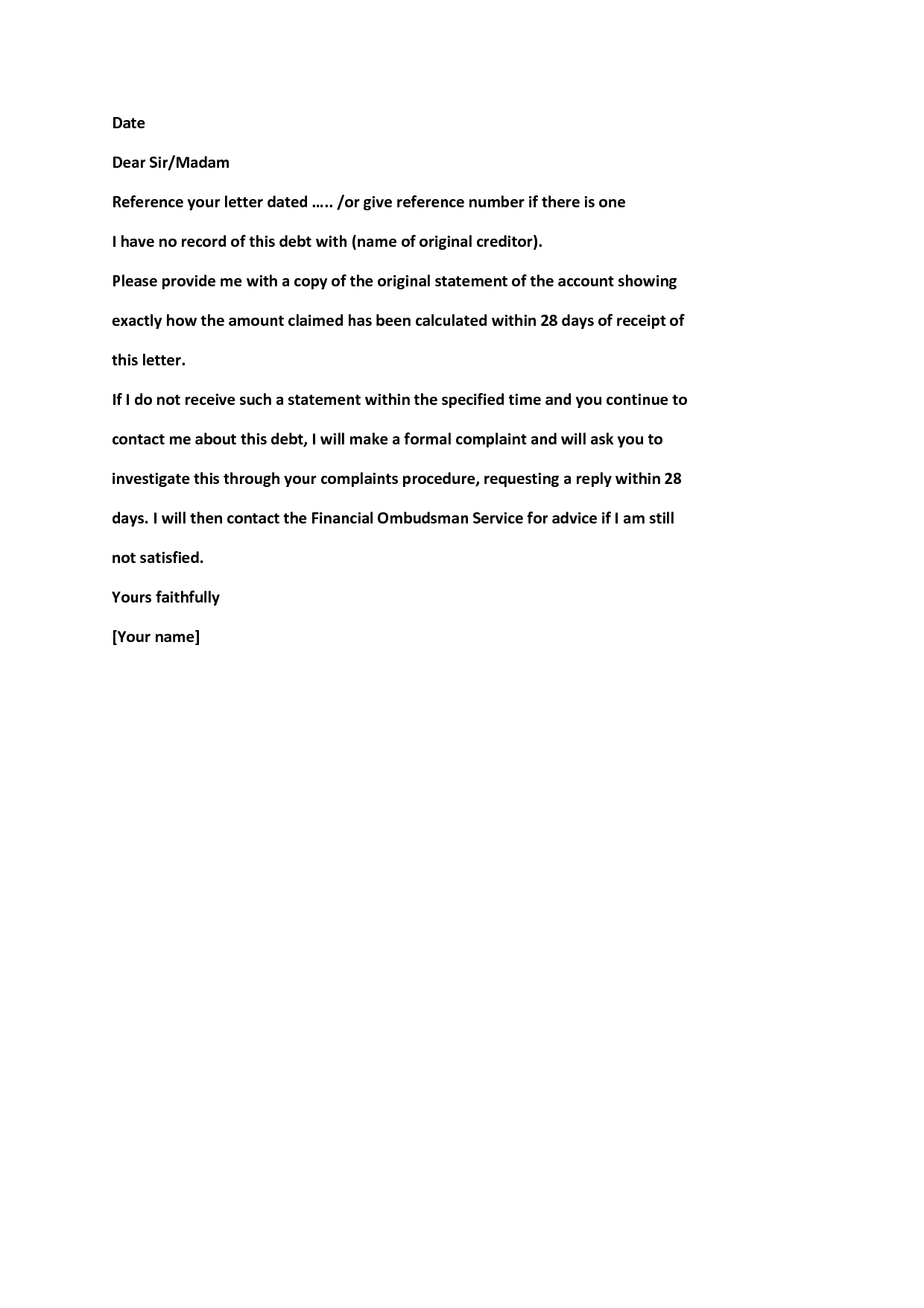 Owed Money Letter Template Examples Letter Cover Templates