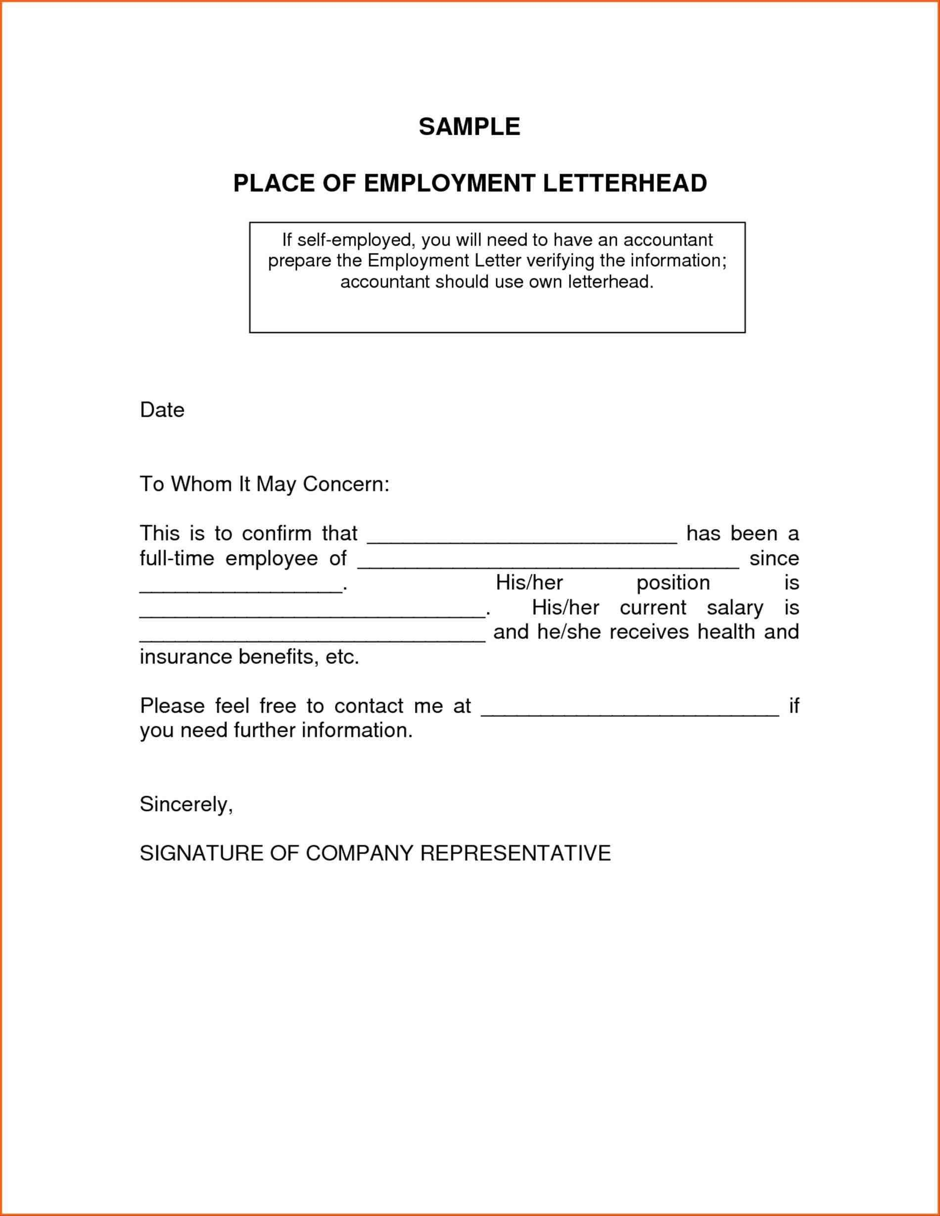 Cpa Letter for Self Employed Template - How to Write A Self Employment Letter Sample New Proof Accountants