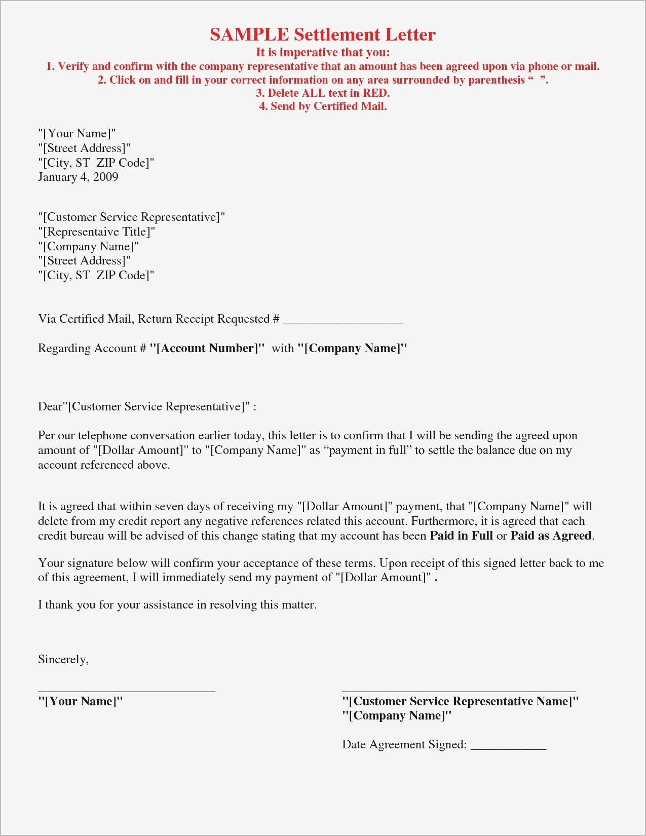 In Full and Final Settlement Letter Template - How to Write A Settlement Letter Letter format formal Sample