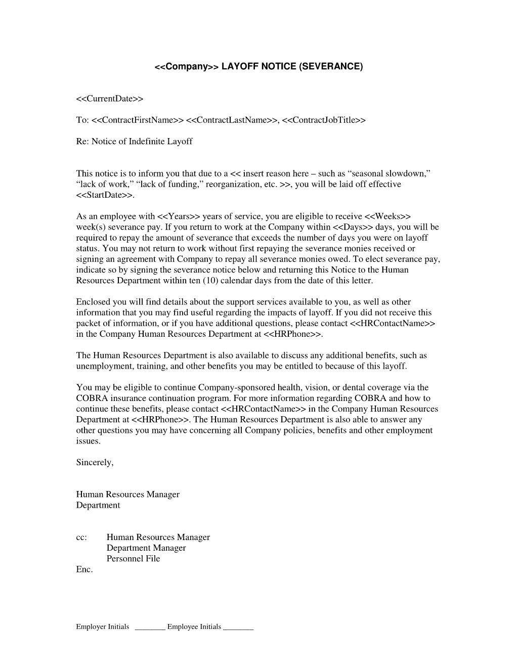 Contract Negotiation Letter Template - How to Write A Severance Letter Letter format formal Sample