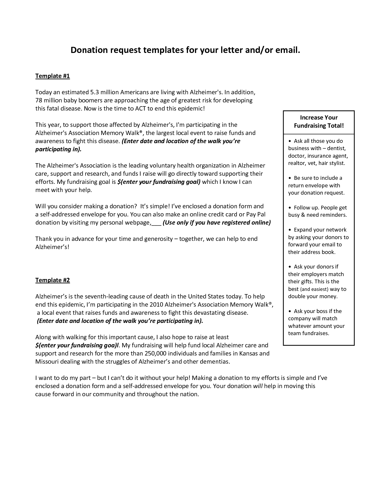 Charity Sponsorship Letter Template - How to Write A solicitation Letter for Donations Choice Image