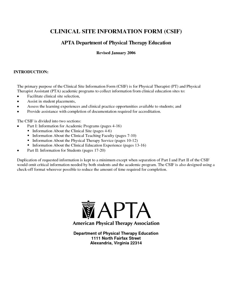 Letter Of Recommendation for Physical therapy School Template