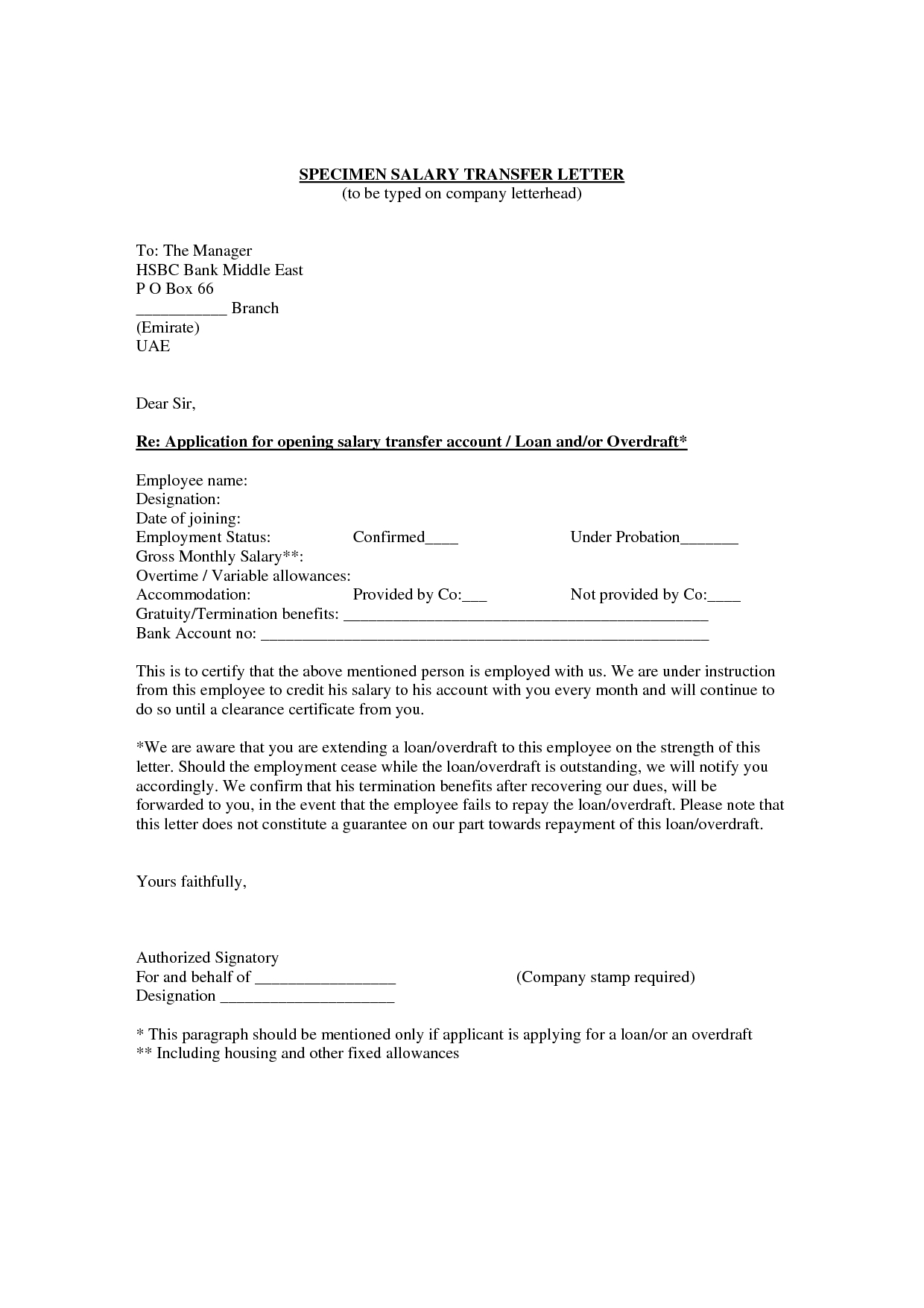 Transfer Letter Template - How to Write A Transfer Letter to An Employee Gallery Letter
