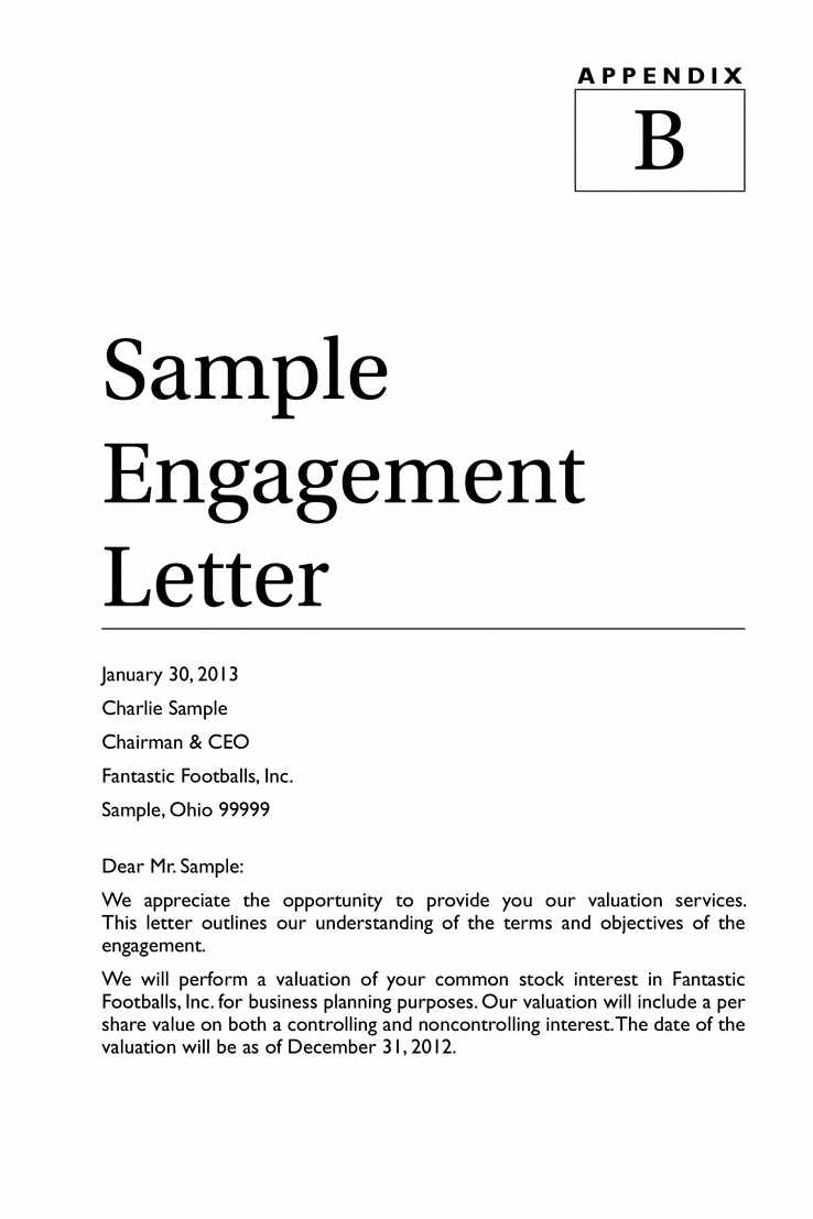 Business Valuation Engagement Letter Template - How to Write An Engagement Letter Image Collections Letter format
