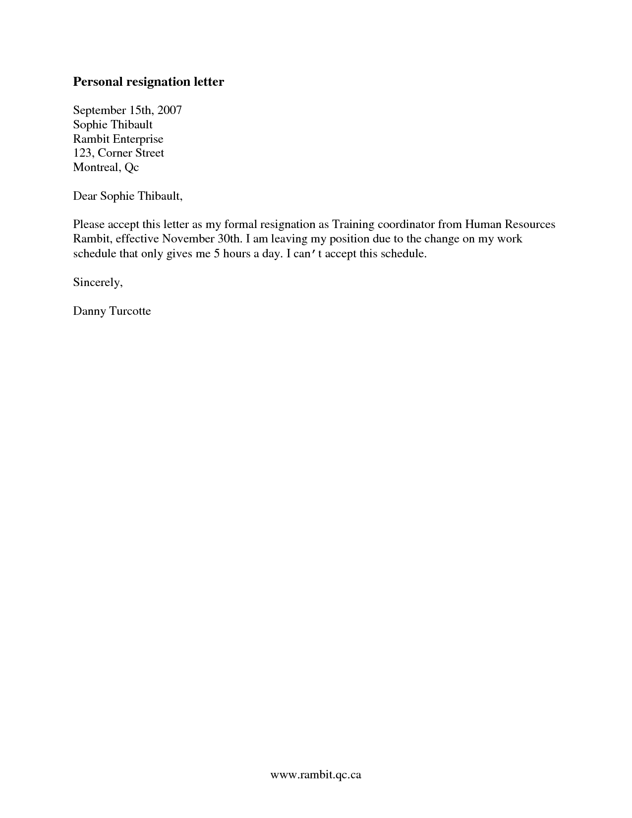 Immediate Resignation Letter Template - Immediate Resignation Letter Health Reasons Accept This as My formal