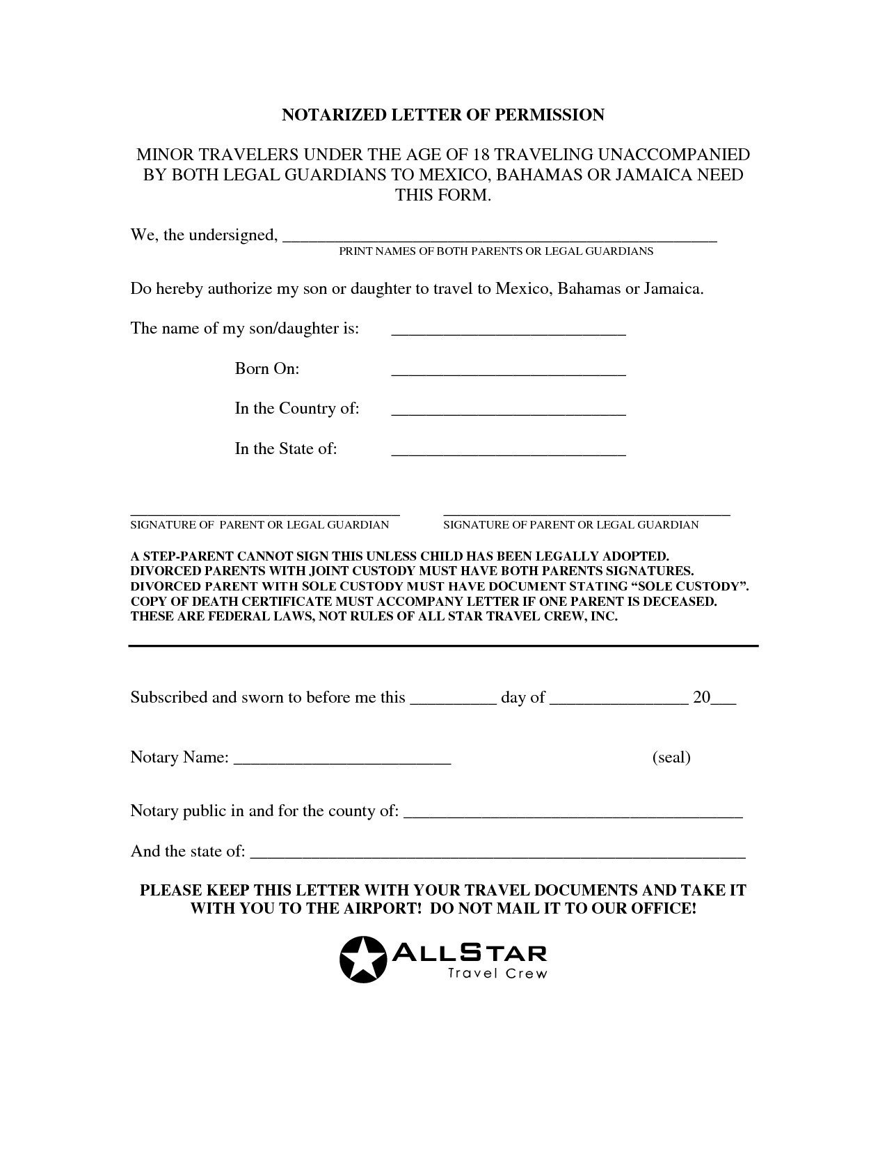 Notarized Letter Template Florida - Inspiration Example Notarized Letter Refrence Inspiration Best S