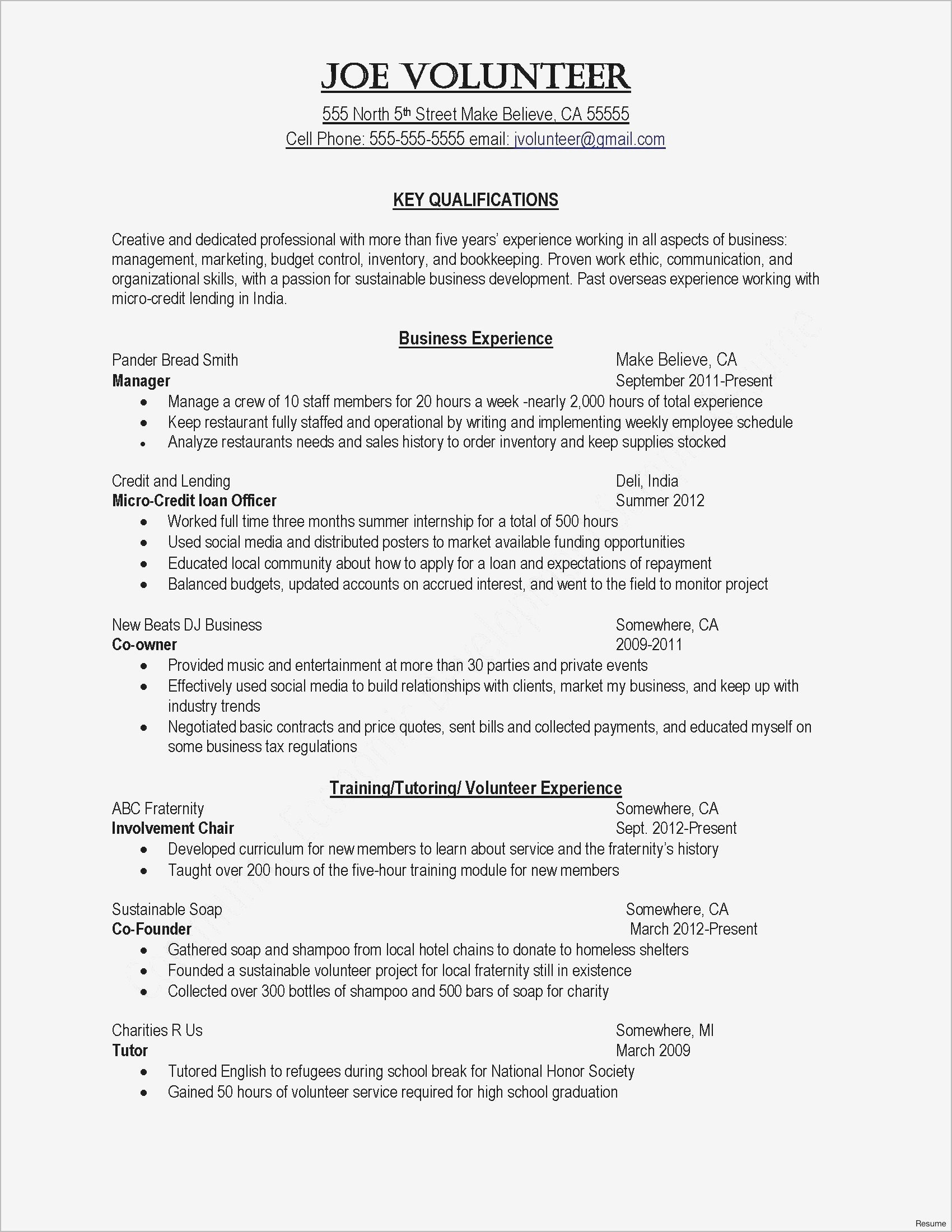 Personal Loan Template Letter - Inspirational Cover Letter Template