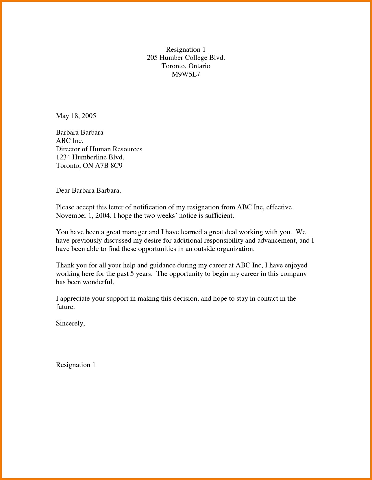 Power Of Attorney Resignation Letter Template Collection Letter