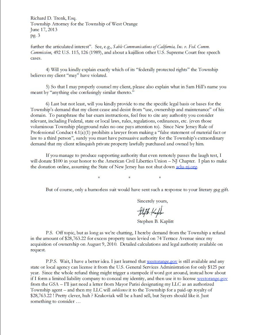 Cease and Desist Letter Template - is This the Best Response to A Cease and Desist Letter Ever