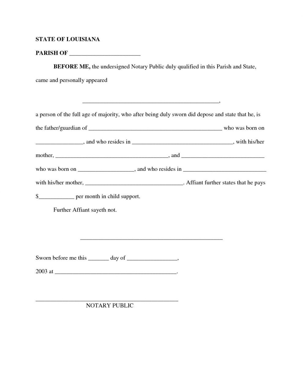 Child Support Letter Of Agreement Template - It Support Contract Template with Child Support Agreement Sample Job