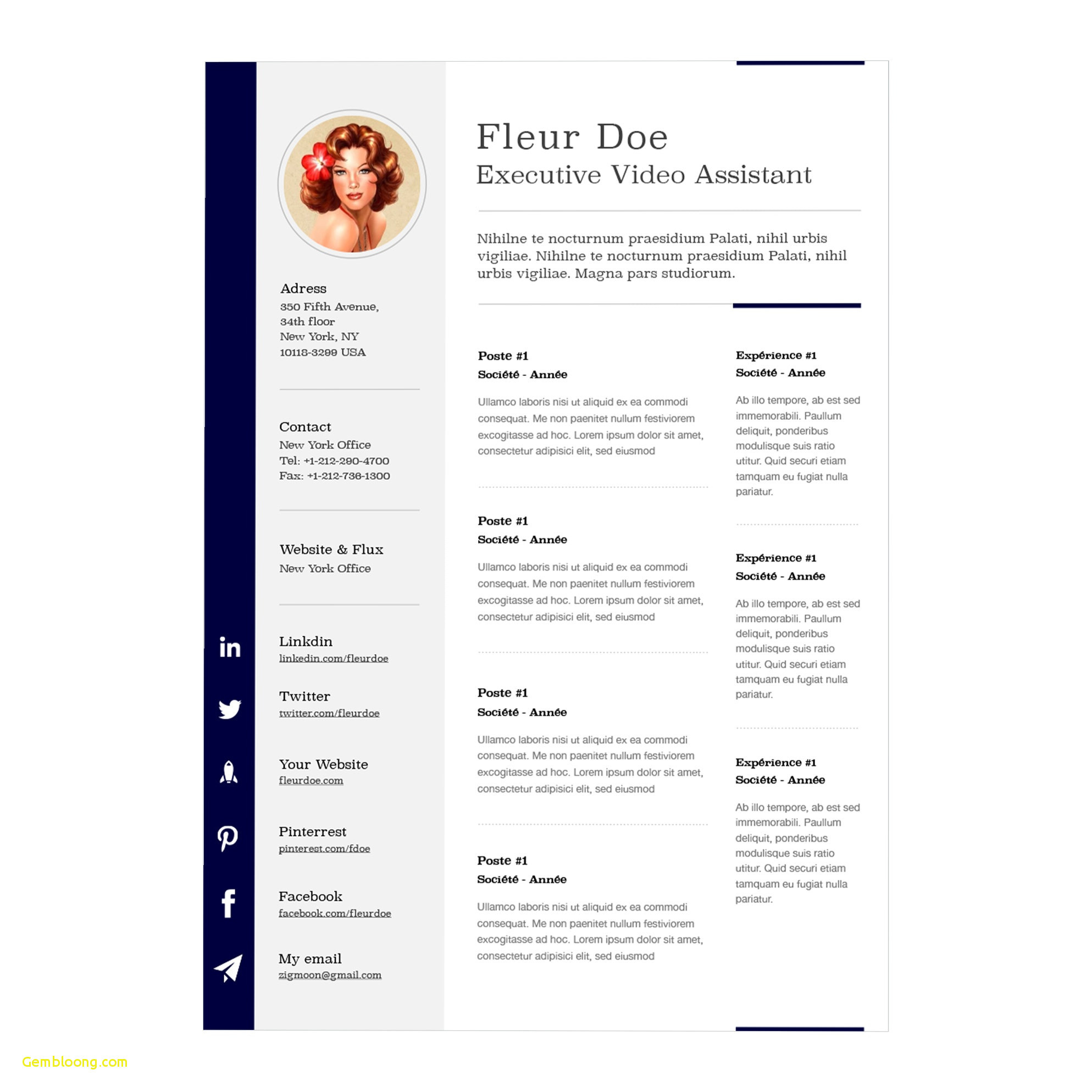 Mac Pages Cover Letter Template - Iwork Resume Templates Best 22 Resume Templates Mac Pages Free