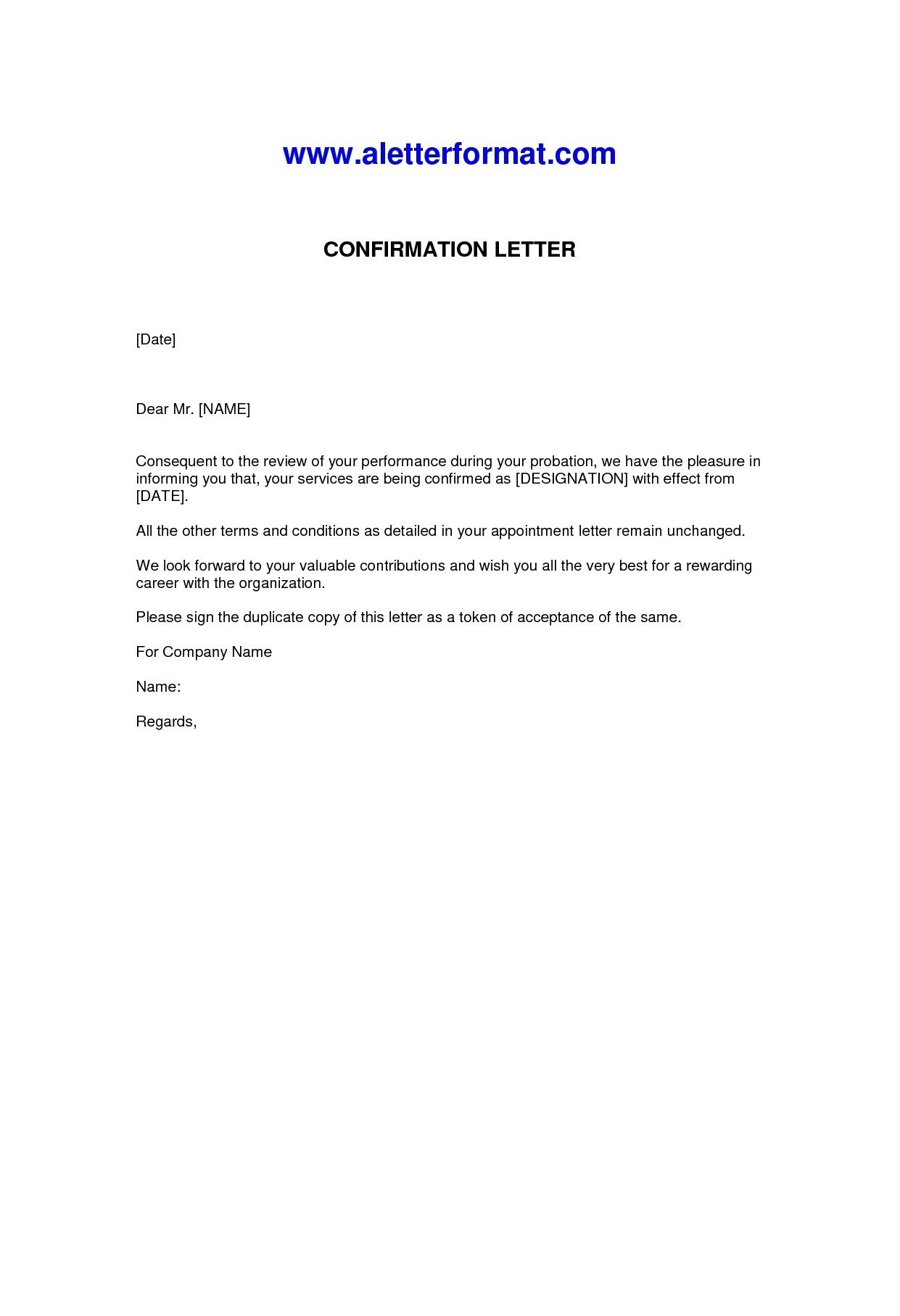 Employment confirmation letter template doc examples letter cover employment confirmation letter template doc job confirmation sample letters fresh request for job confirmation altavistaventures
