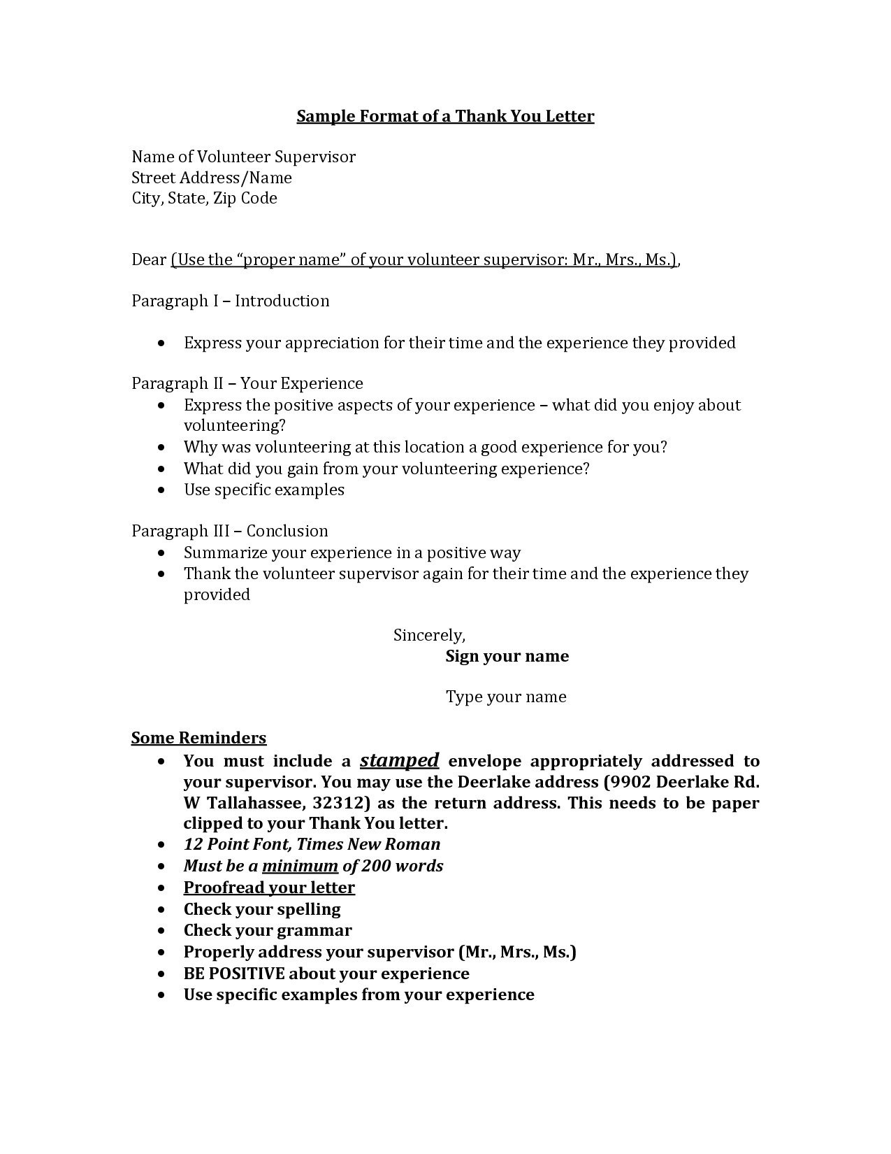 resume thank you letter example thank you letters after teacher