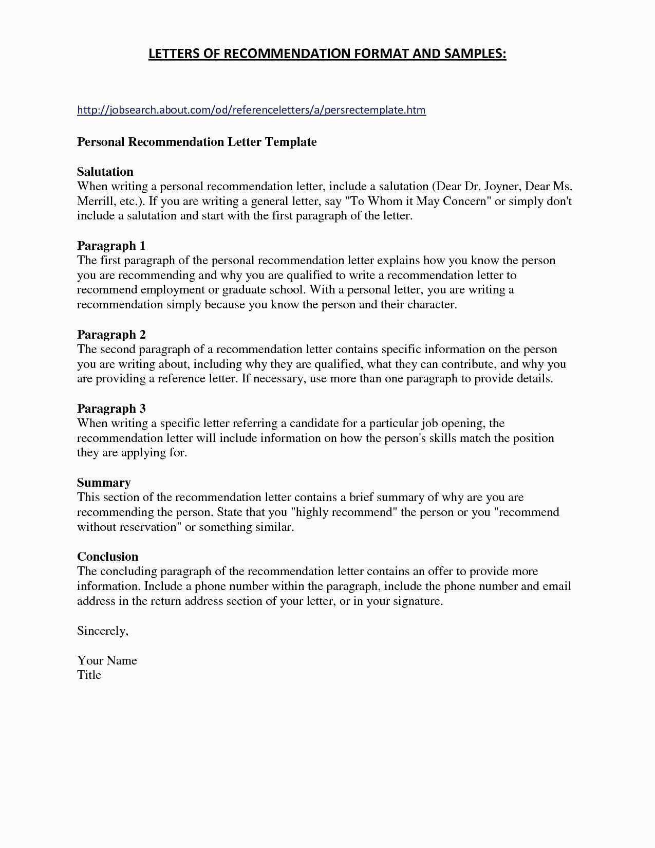 Credit Reference Letter Template - Job Re Mendation Letter Template New Dispute Letter to Credit