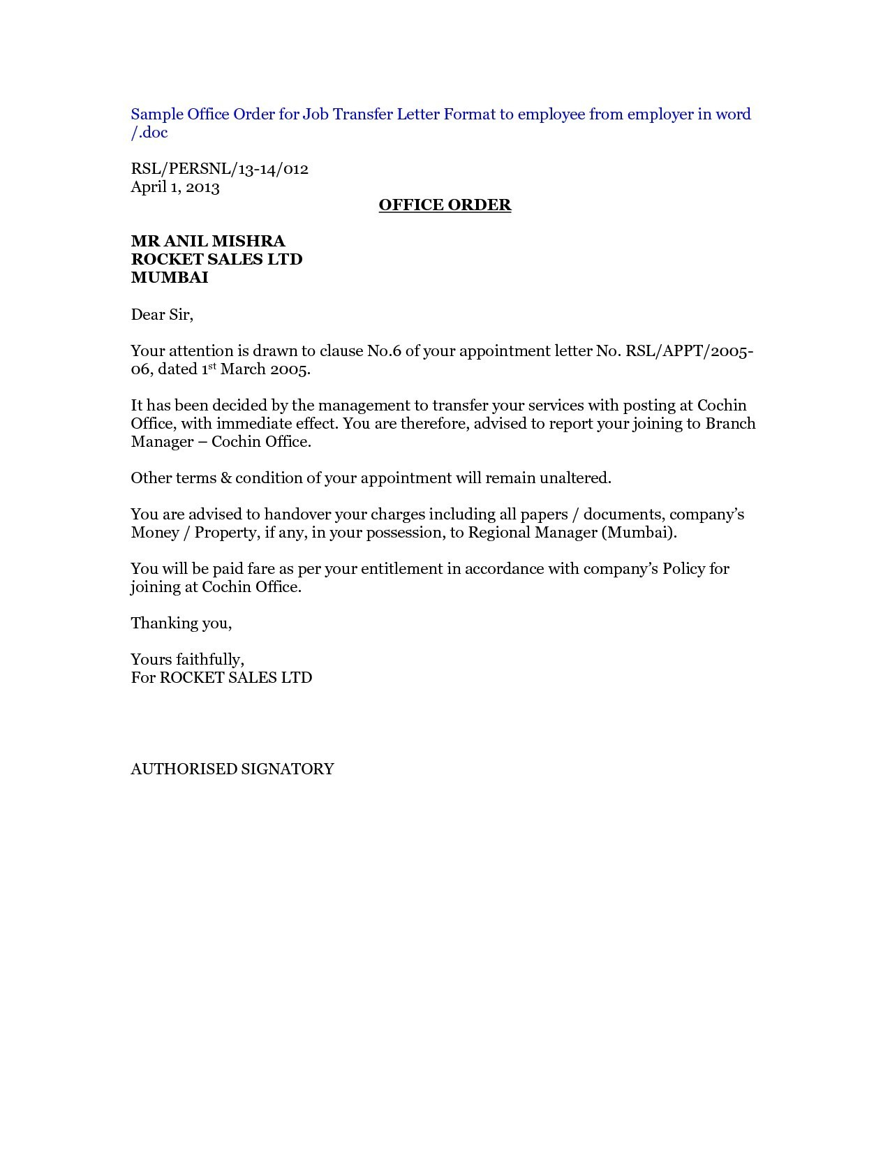 Employee Relocation Letter Template - Job Relocation Letter Sample Best Job Relocation Request Letter