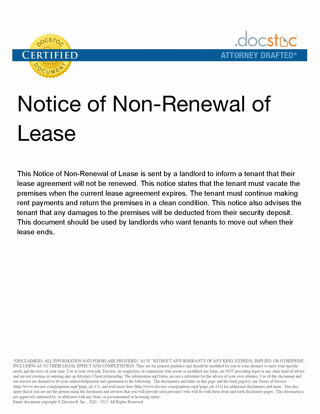 nonrenewal of lease letter template landlord termination lease letter awesome lease termination