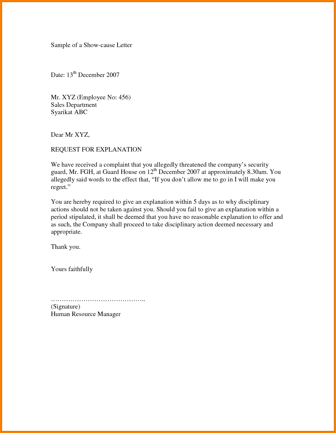 Cash Out Refinance Letter Of Explanation Template Collection