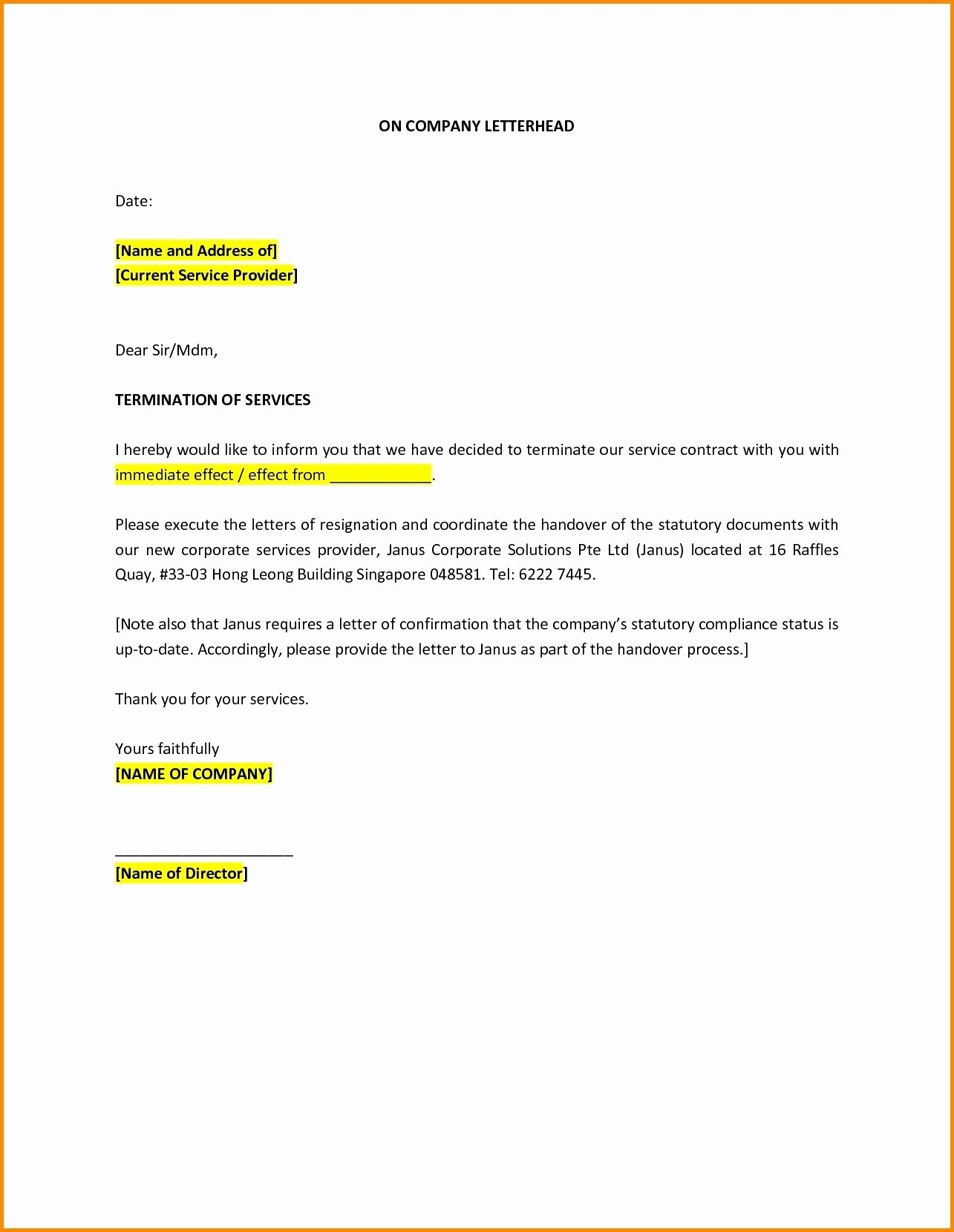 Car Insurance Cancellation Letter Template - Letter format for Cancellation Car Booking New Insurance