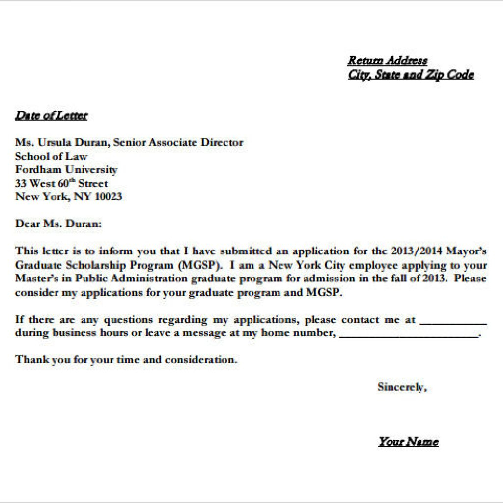 Basic Letter Of Intent Template - Letter Intent for Employment Templateample Writing Gradchool