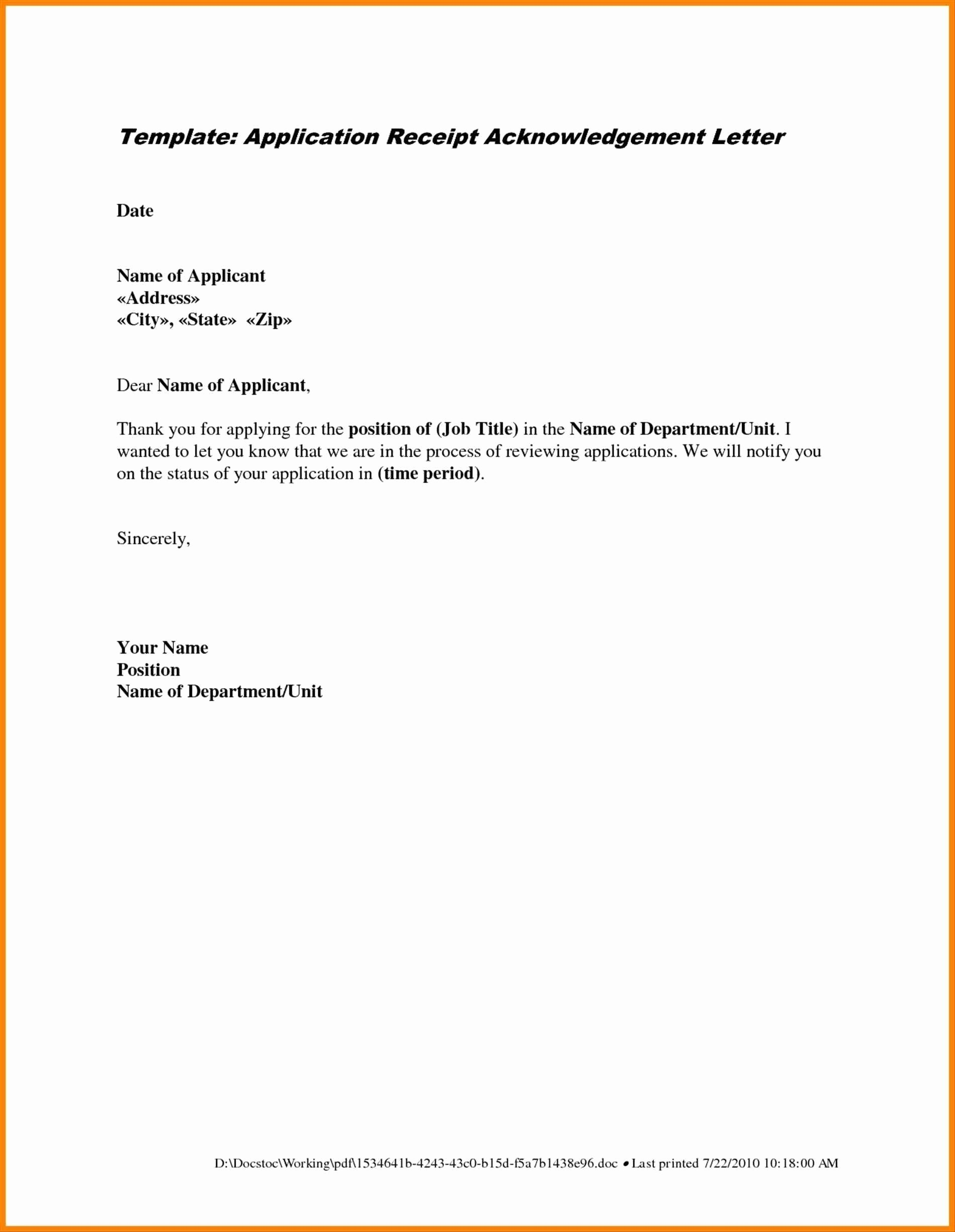 Free Letter Of Intent for A Job Template - Letter Intent Job Template Best Sample Job Application Letter