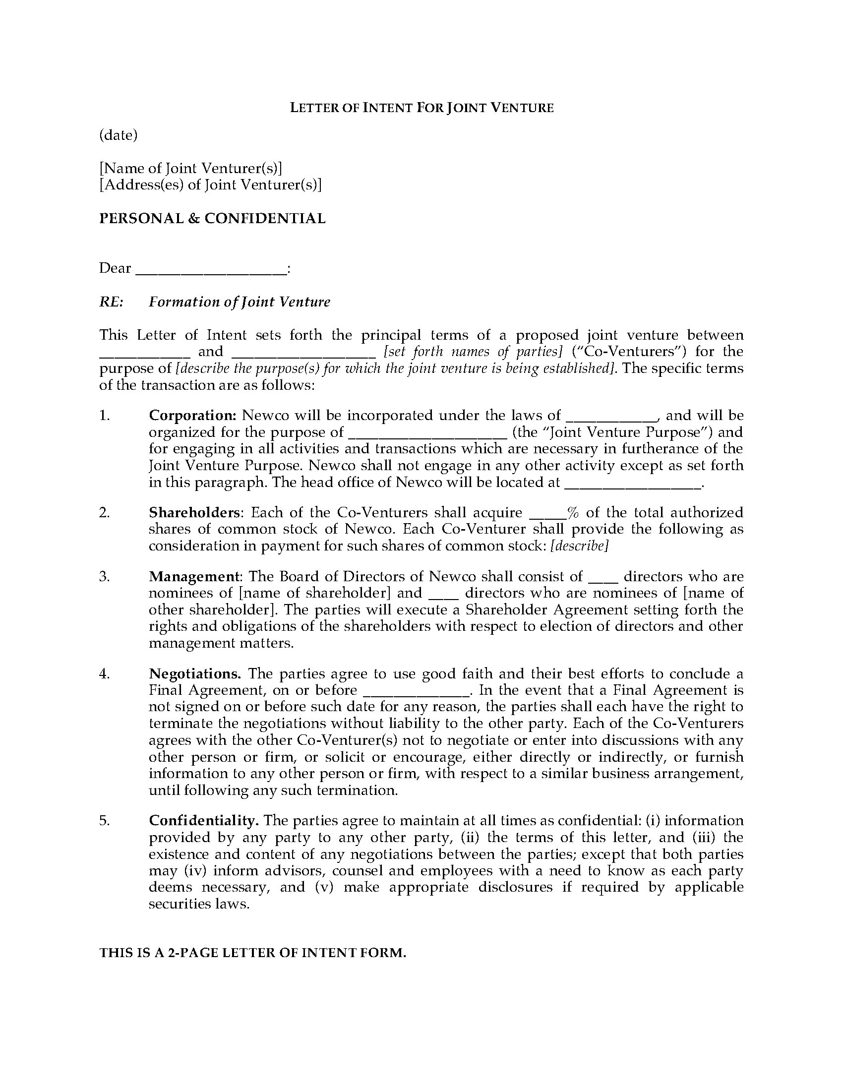 joint venture letter of intent template example-Letter Intent Legal Definition s High To Form Joint Venture Forms And Business 13-n