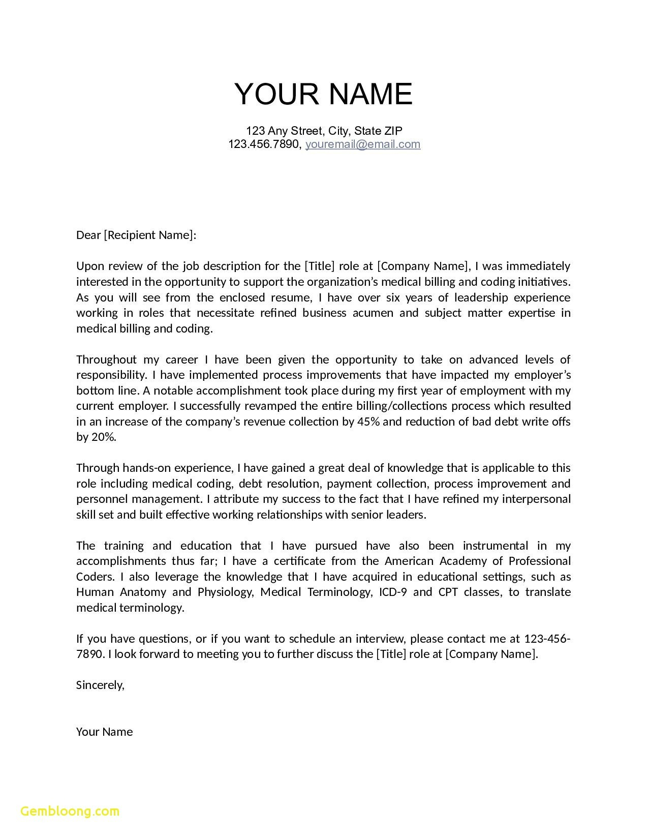 Mortgage Pre Approval Letter Template - Letter Interest Teaching