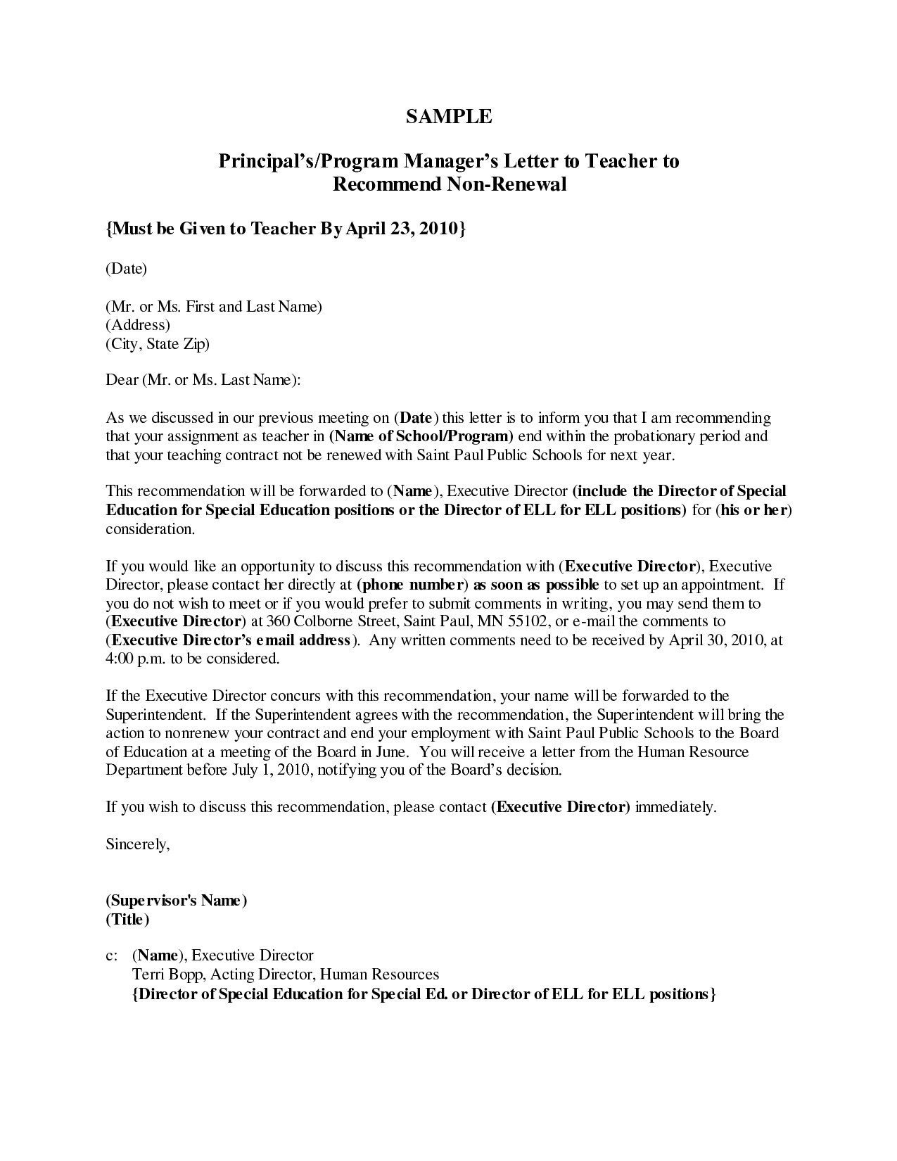 Teacher Reference Letter Template - Letter Re Mendation Sample for Substitute Teacher Fresh