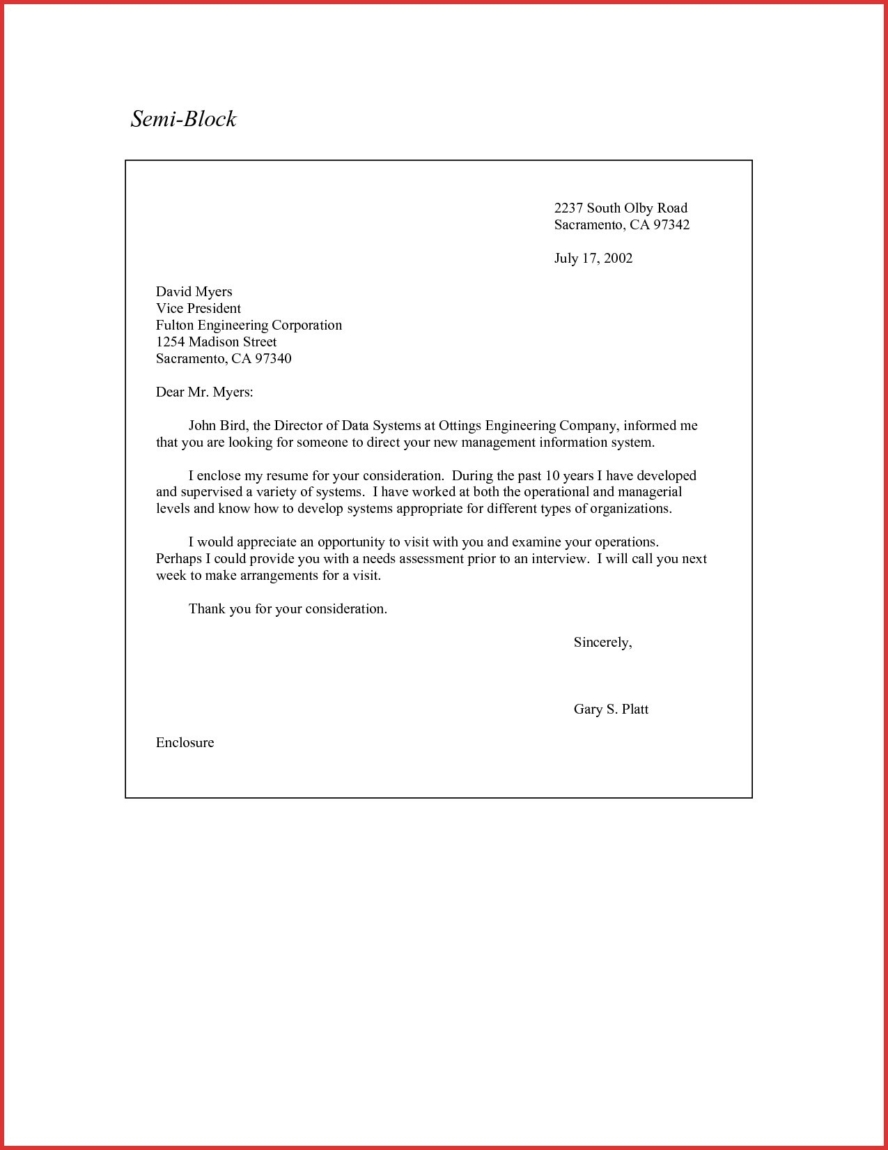 Modified Block Letter Template - Letter Resignation Block Letter format New Resignation Letter