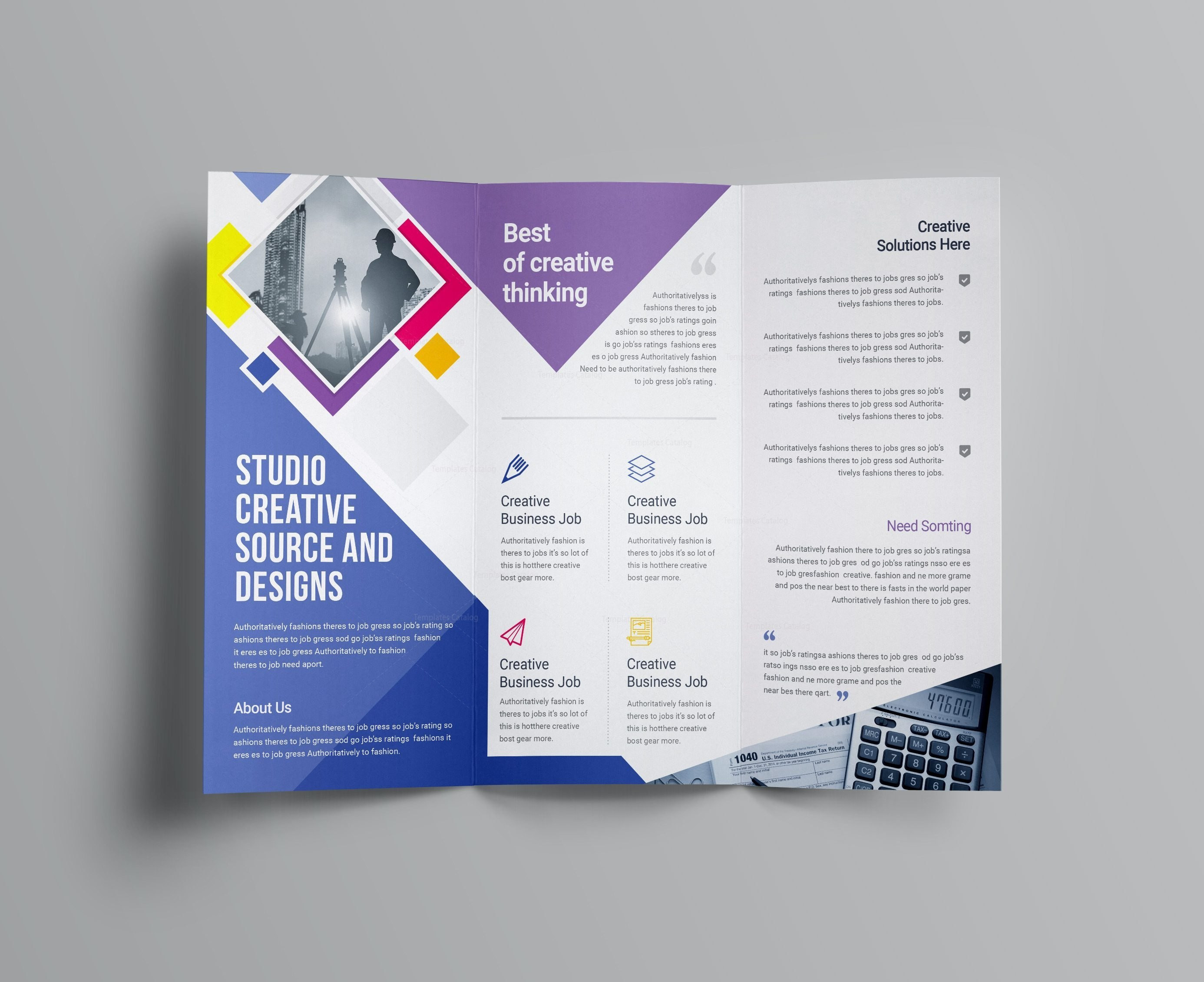 Letter Folding Template - Letter Template Indesign Awesome Tri Fold Brochure Template Free