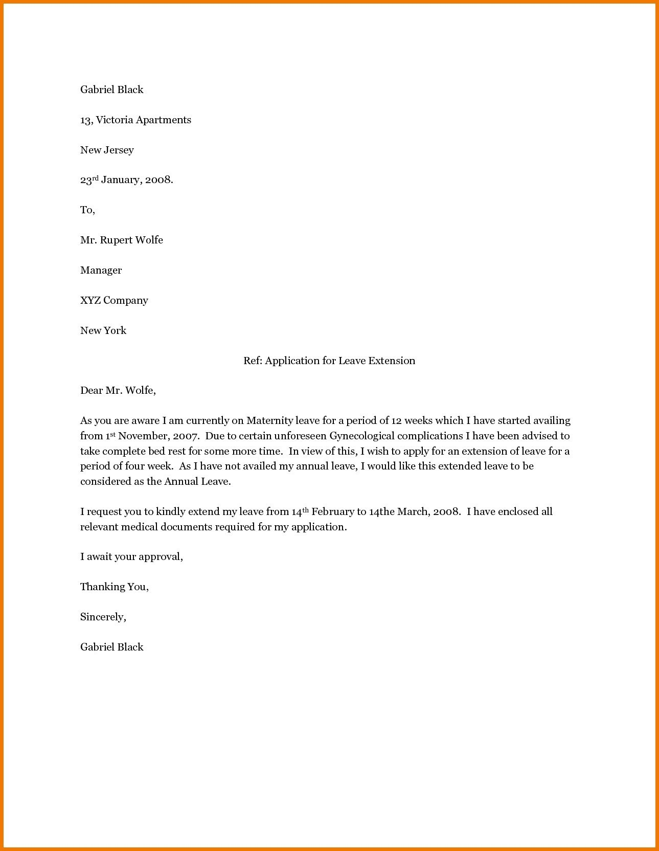 Pregnancy Letter From Doctor Template - Letter Template Maternity Leave Inspirationa Letter Template